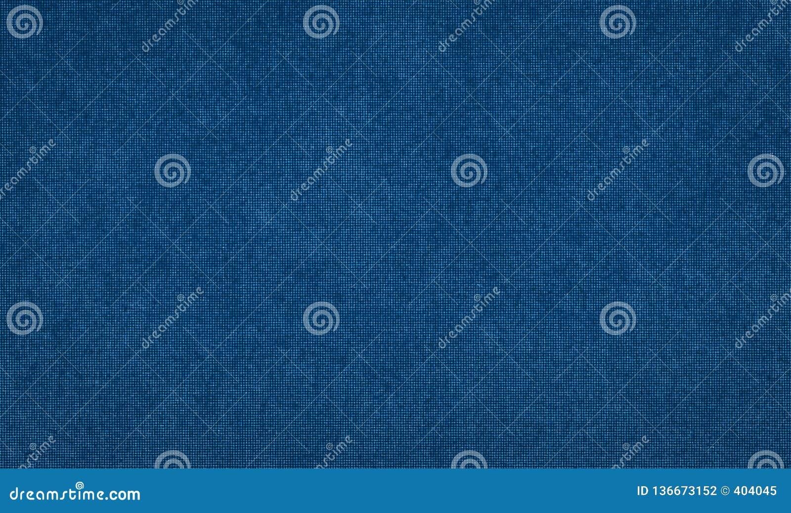 Klaar kader voor ontwerp, fijne textieltextuur, donkerblauwe abstracte achtergrond