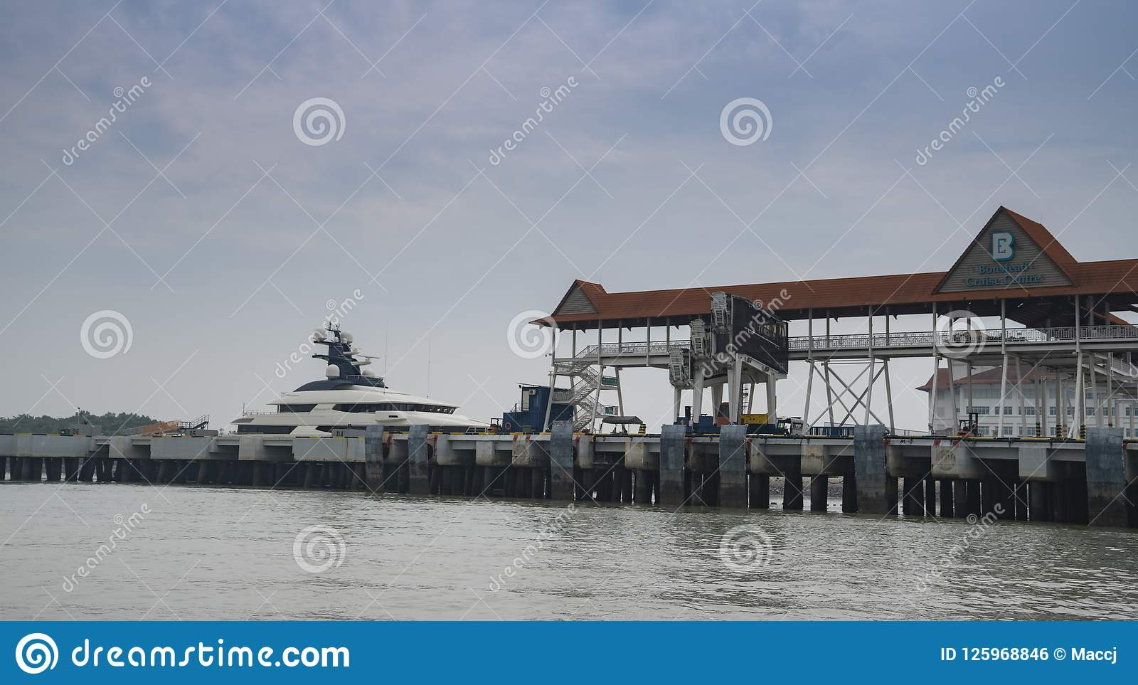 Superyacht Equanimity In Port Klang Editorial Photo - Image