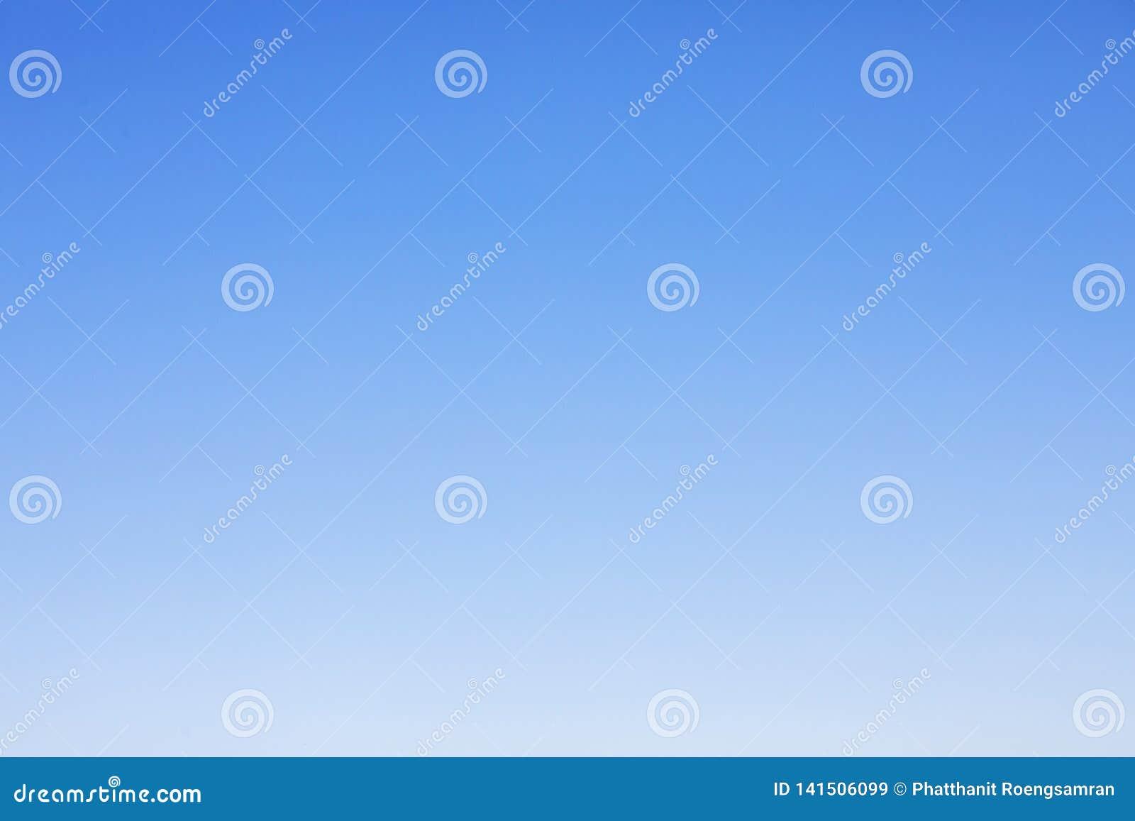 Klar bakgrund för blå himmel och tomt utrymme för din design, inget moln