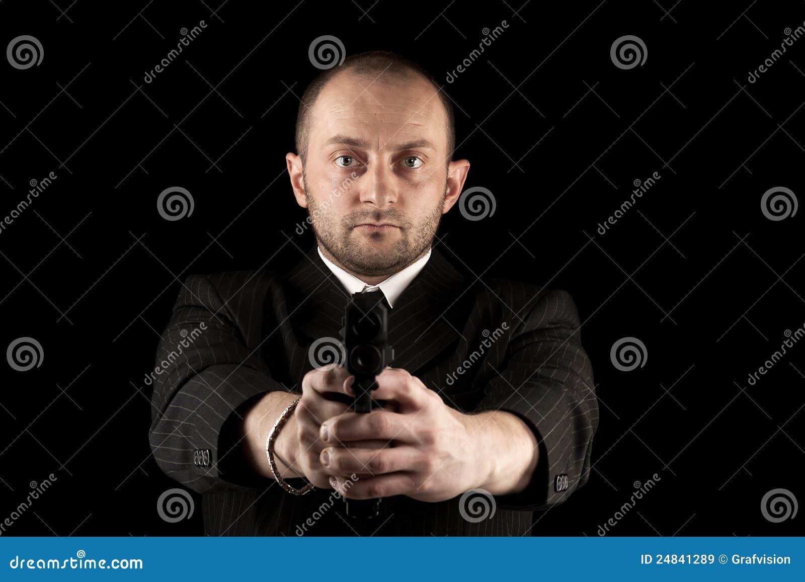 Klar for för revolverman till