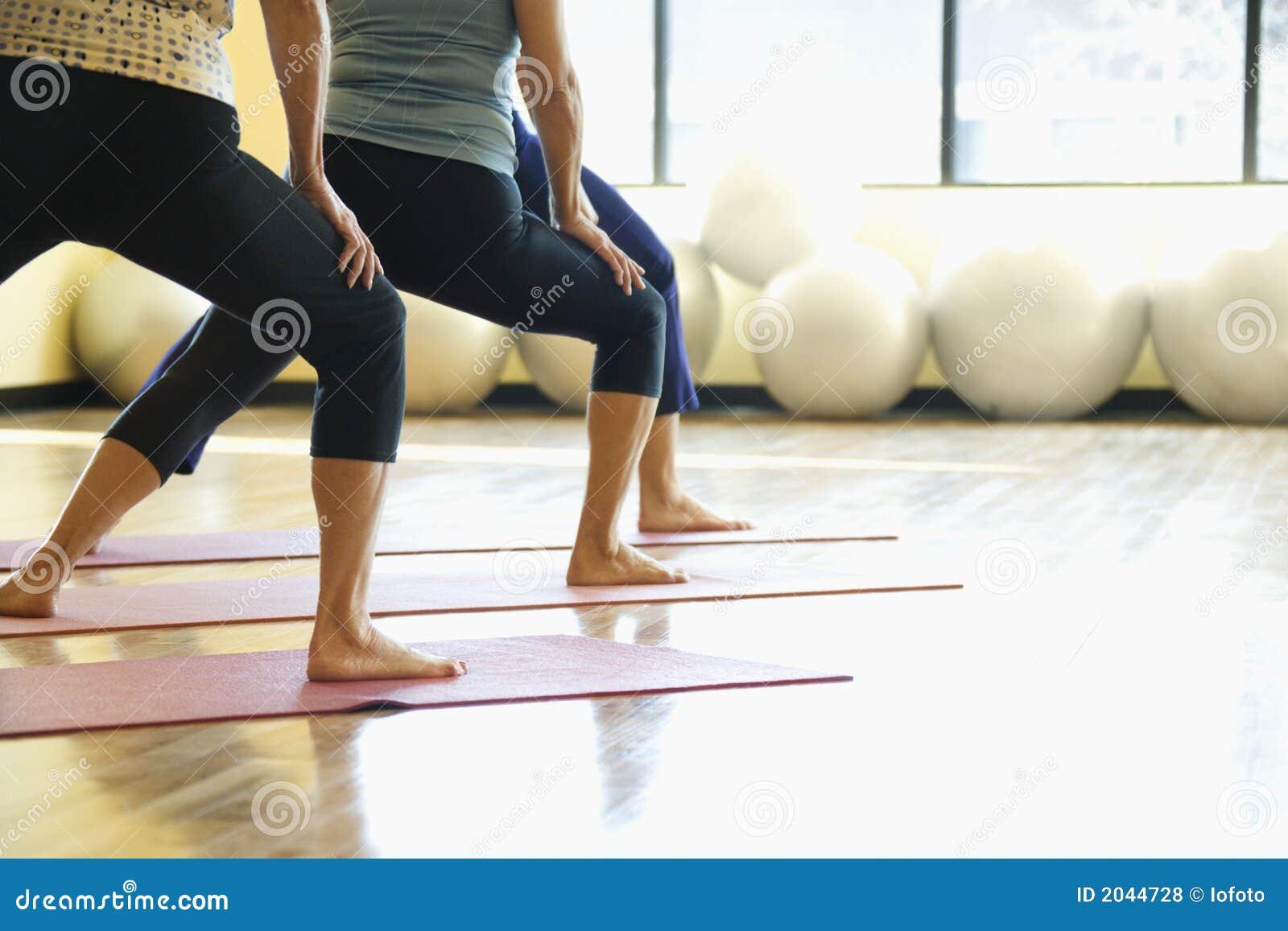 Klasa jogi dorosły kobiet