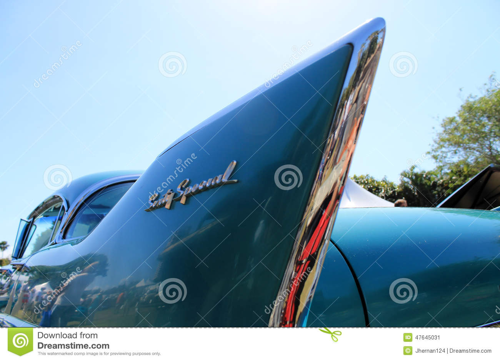 Klassiek Amerikaans autodetail