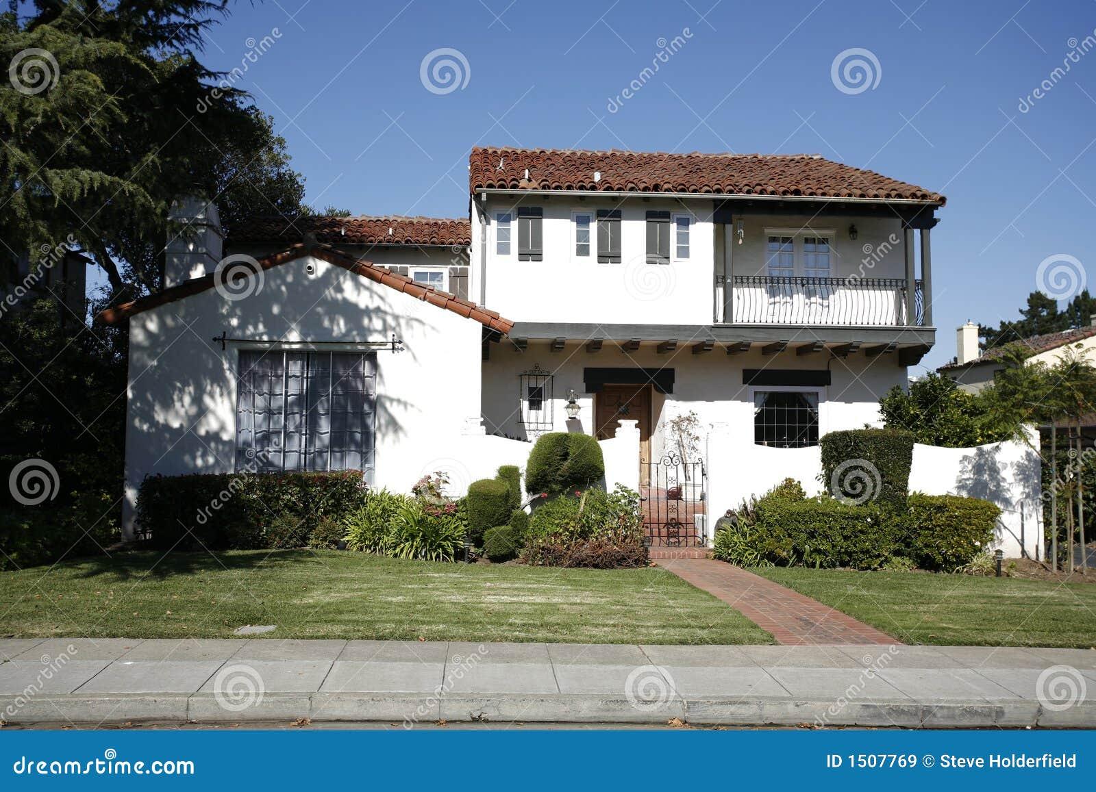 Klassiek Huis op het Schiereiland van het zuiden van Californië van San Francisco.
