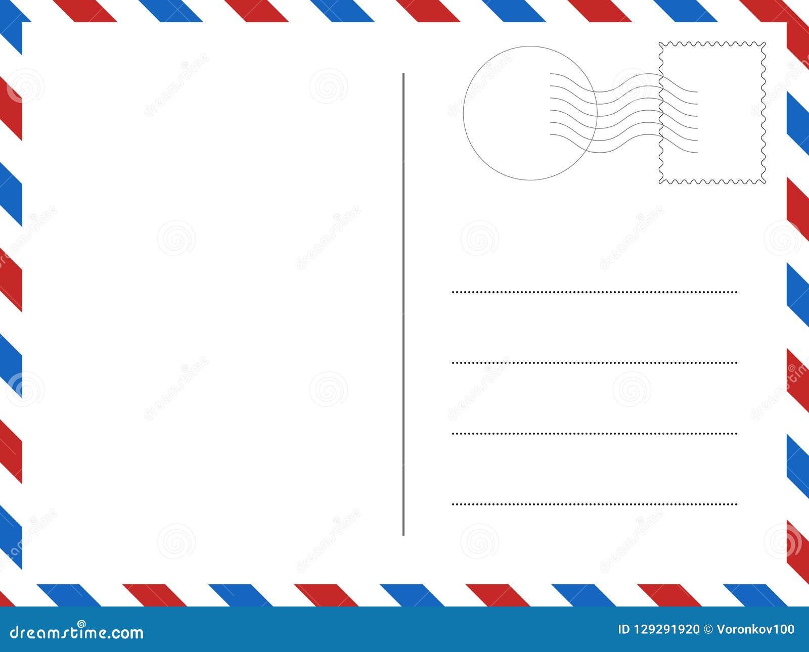 Klassieke prentbriefkaar Vectorillustratie voor uw ontwerpen