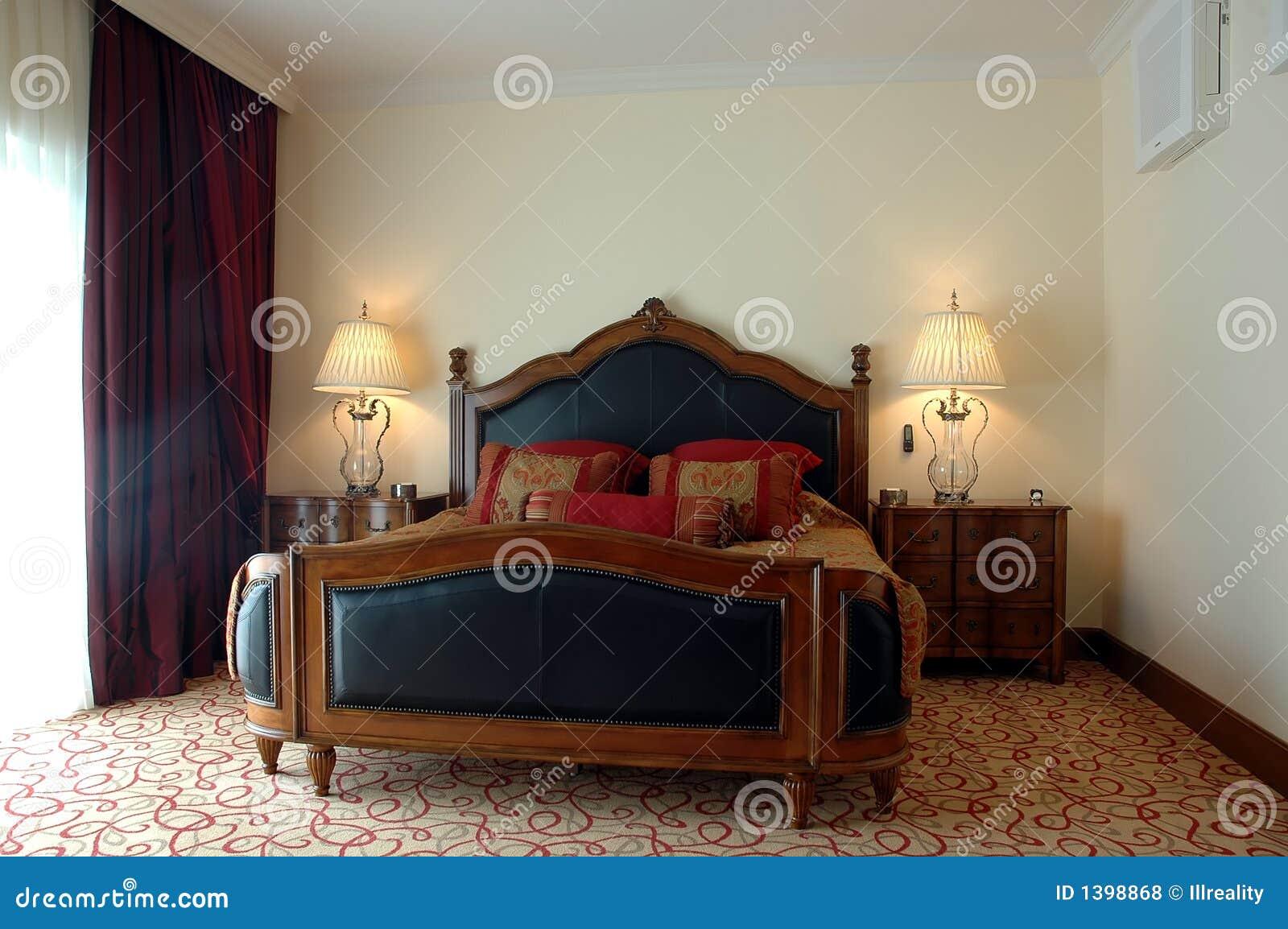 Klassieke slaapkamer royalty vrije stock foto 39 s afbeelding 1398868 - Decoratie volwassen kamer romantisch ...