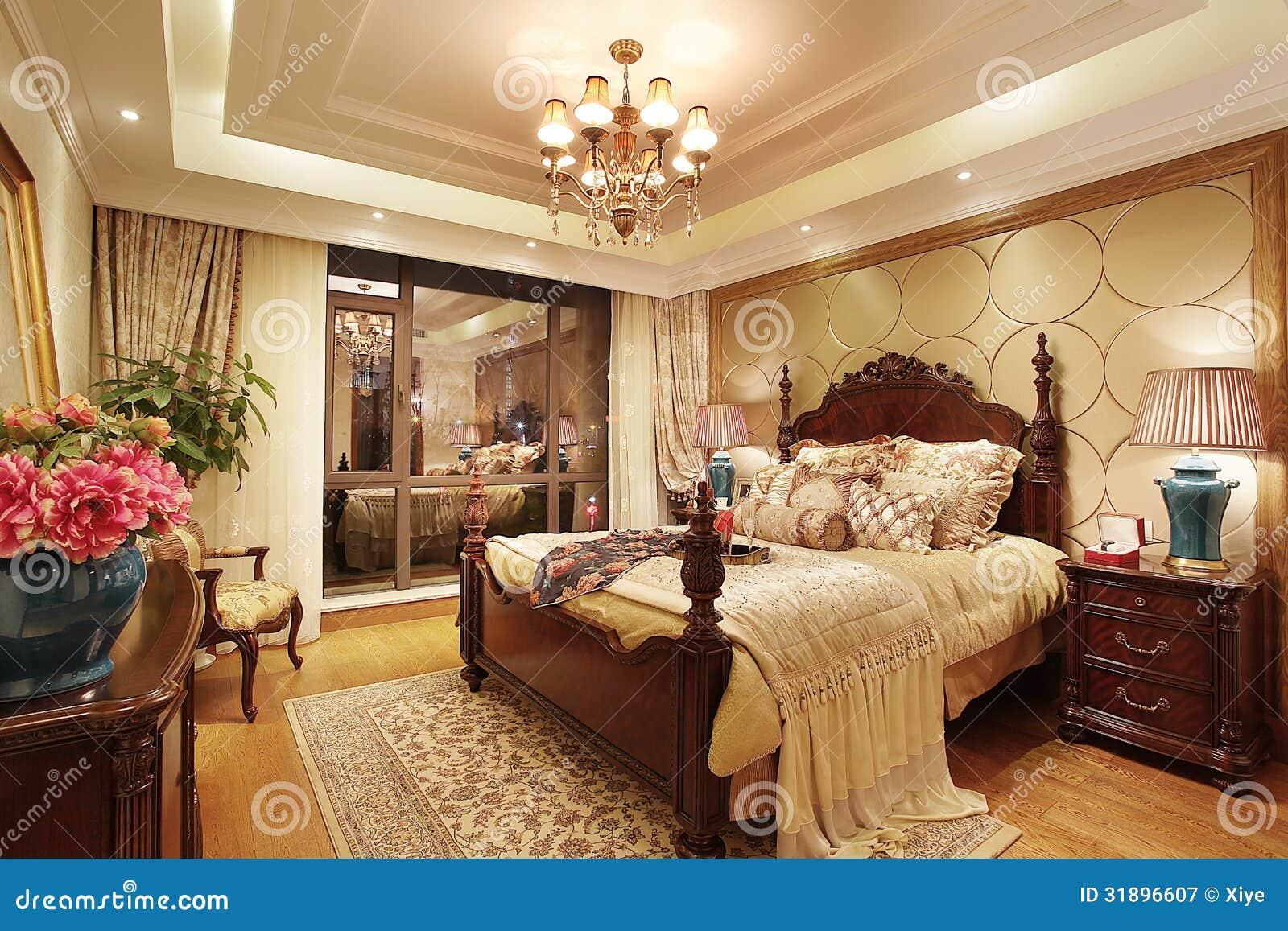 Klassieke slaapkamer royalty vrije stock afbeeldingen   afbeelding ...