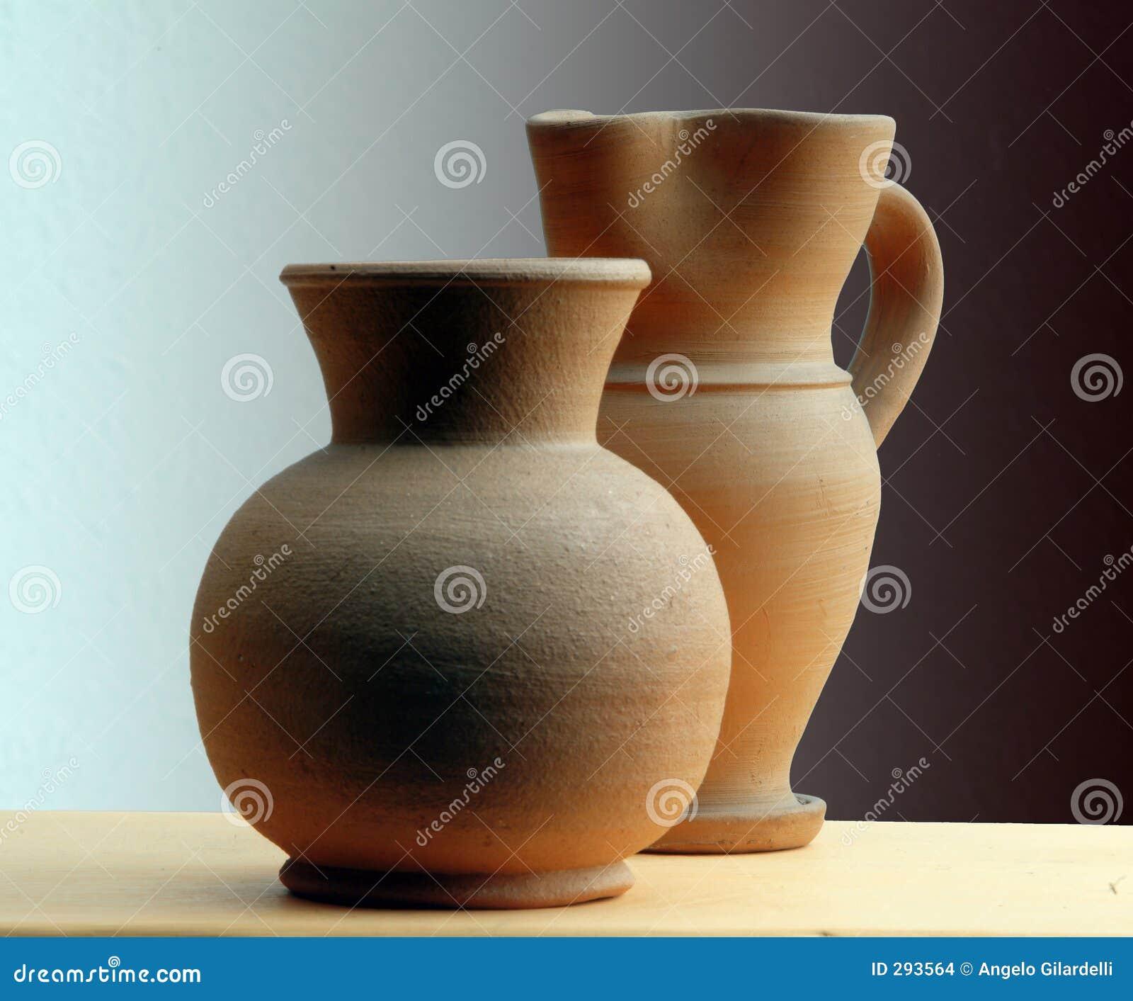 Klassieke terracottavaas