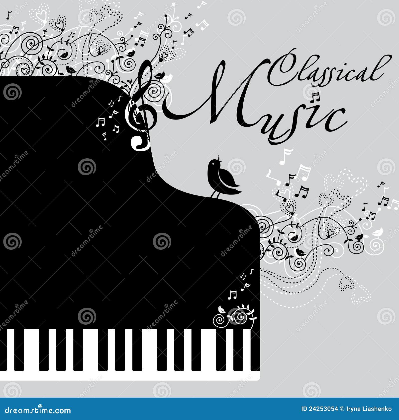 klassische musik stockbilder bild 24253054. Black Bedroom Furniture Sets. Home Design Ideas