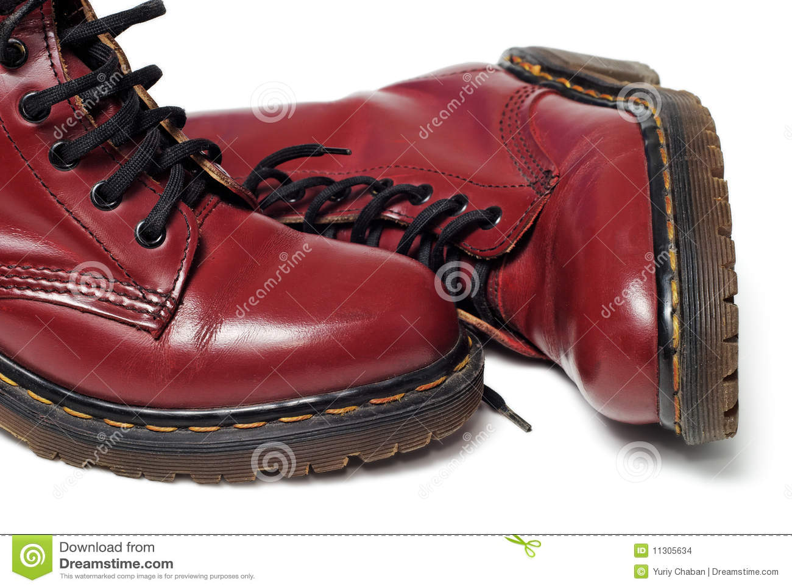 Klassische rote Matten