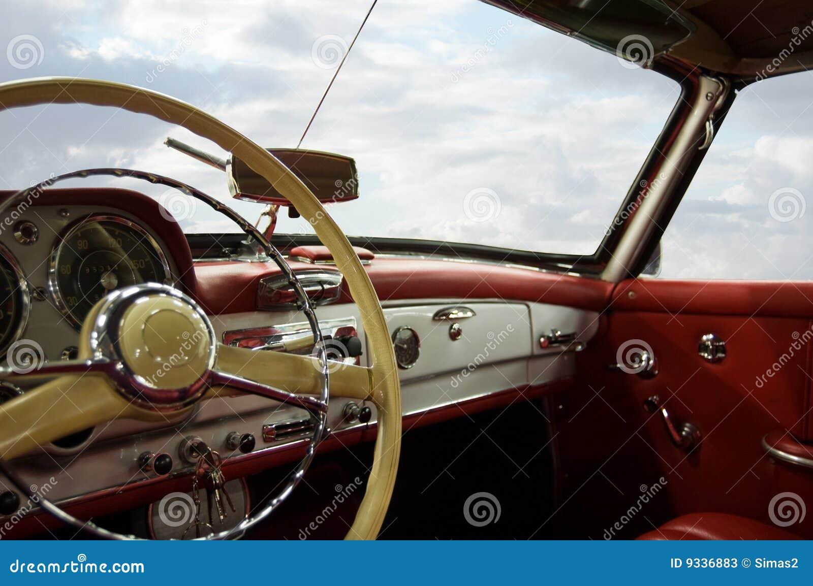 Klassischer Auto-Armaturenbrett Stockfotos - Bild: 9336883   {Armaturenbrett auto 66}