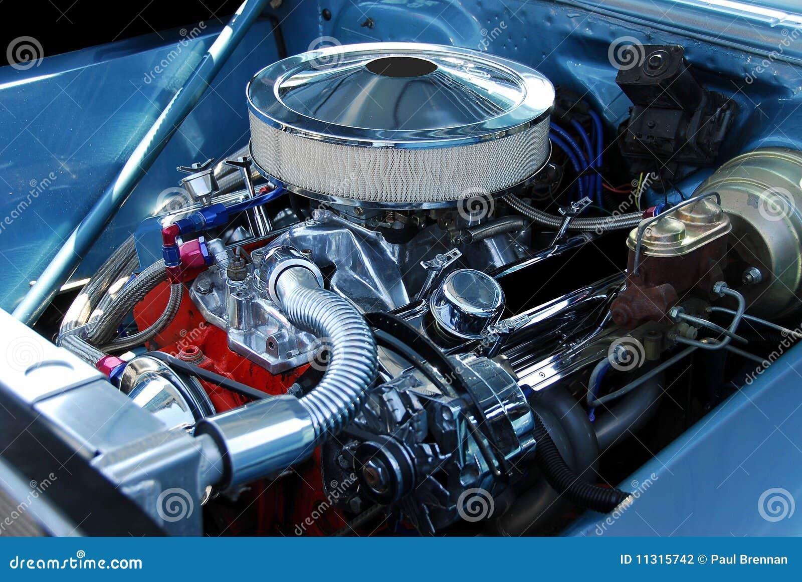 Klassischer Auto-Motor