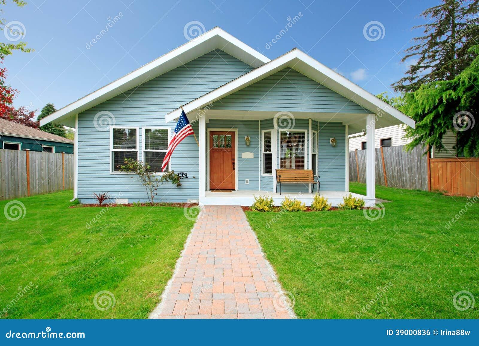 Außergewöhnlich Amerikanisches Landhaus Galerie Von Pattern Klassisches Stockfoto - Bild Von Landschaft,