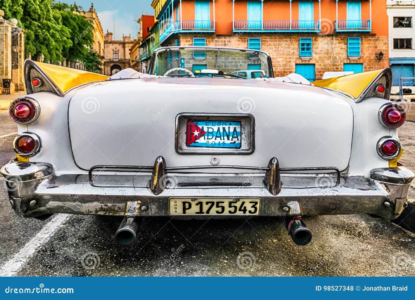 Klassisches Auto in Havana