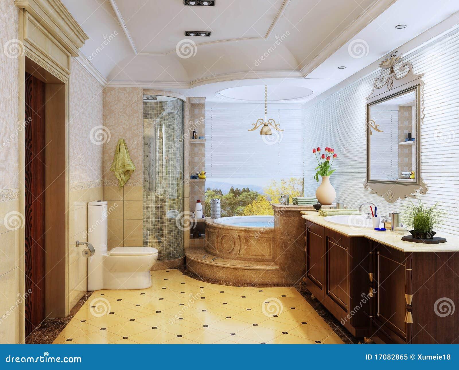 klassisches badezimmer lizenzfreies stockfoto - bild: 17082865, Badezimmer