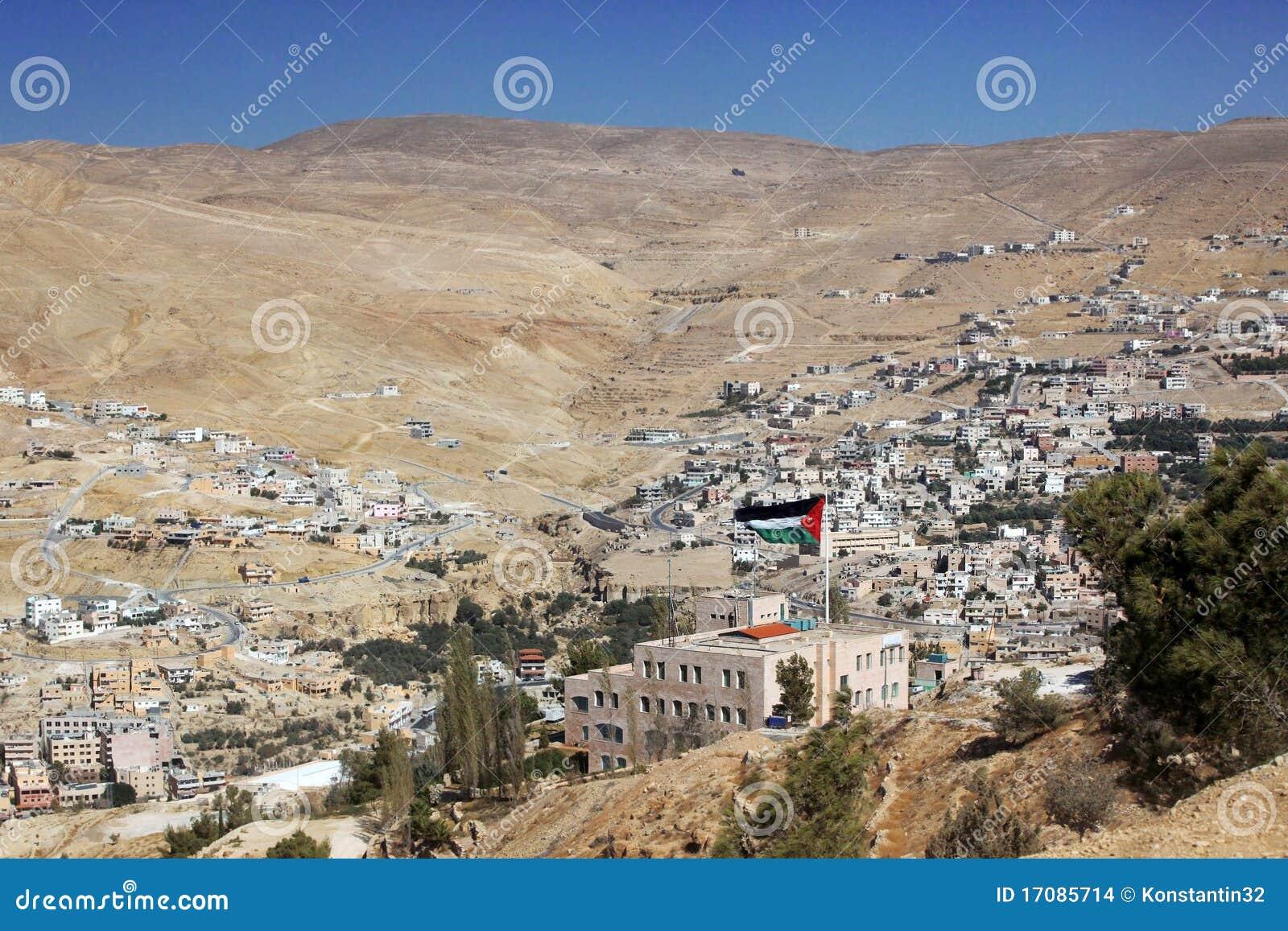 Klassisches Jordanien - Ansicht über ein Tal