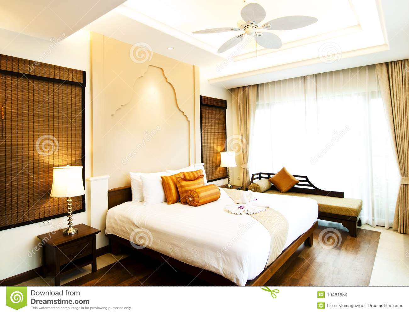 Klassisches Schlafzimmer Stockbilder - Bild: 10461954