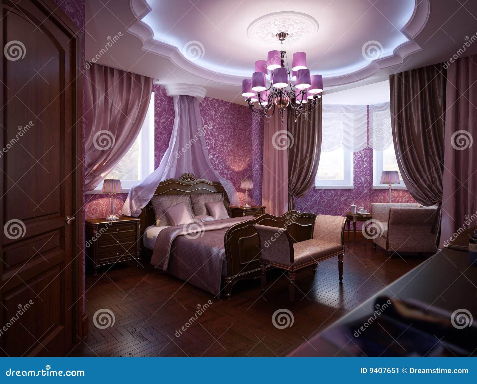 Klassisches Schlafzimmer Stockbild - Bild: 9407651 Schlafzimmer Klassisch Modern