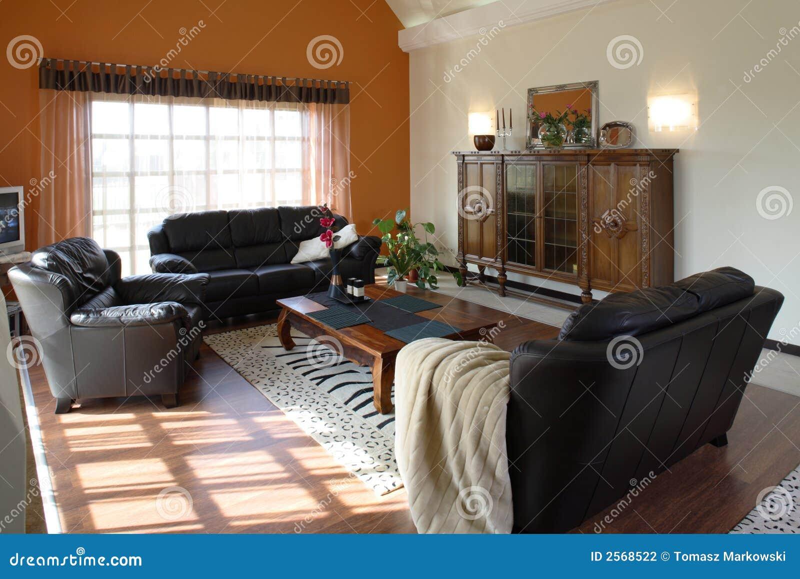 klassisches wohnzimmer stockfotografie bild 2568522