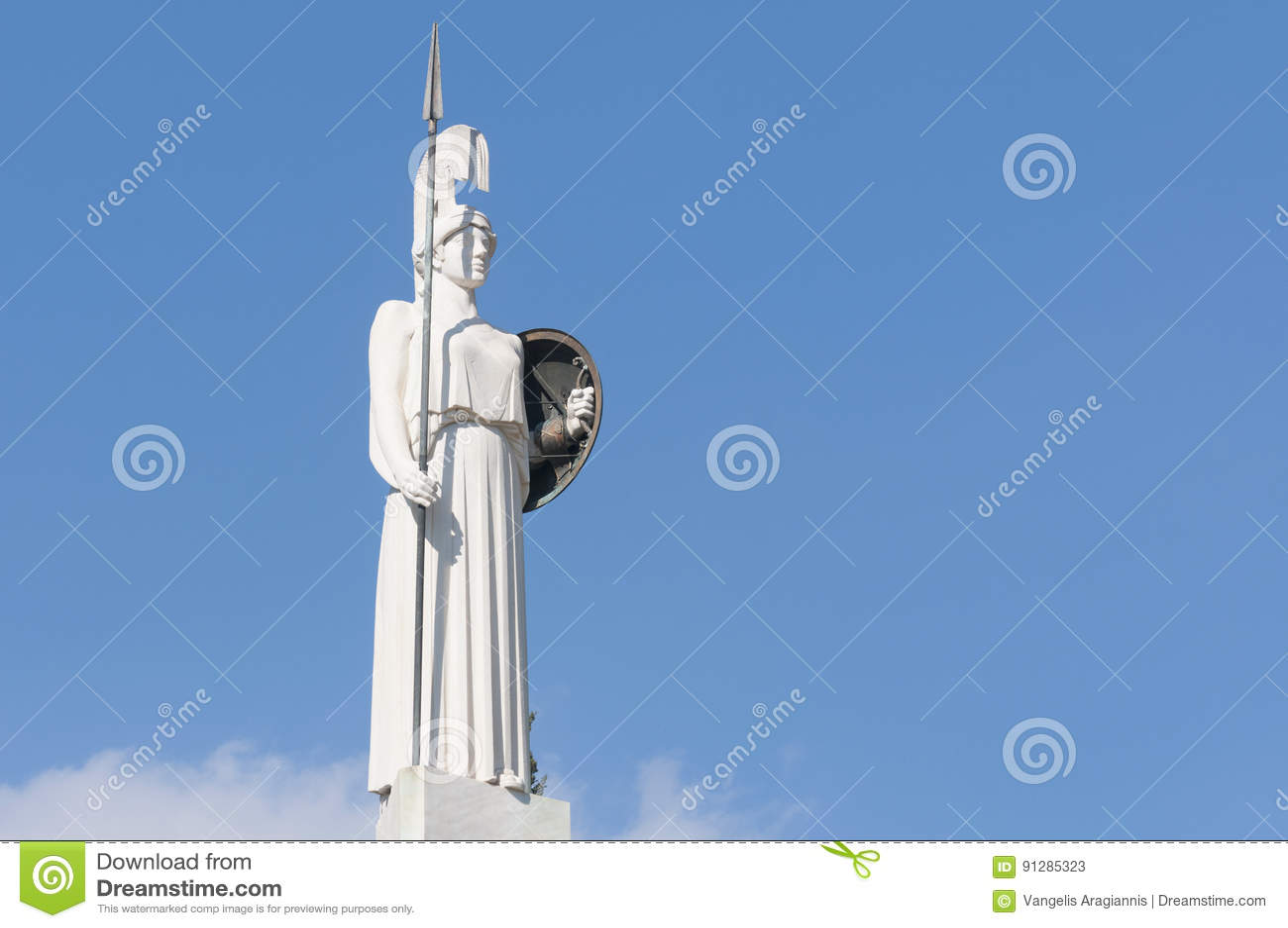 Klassisk Athena staty