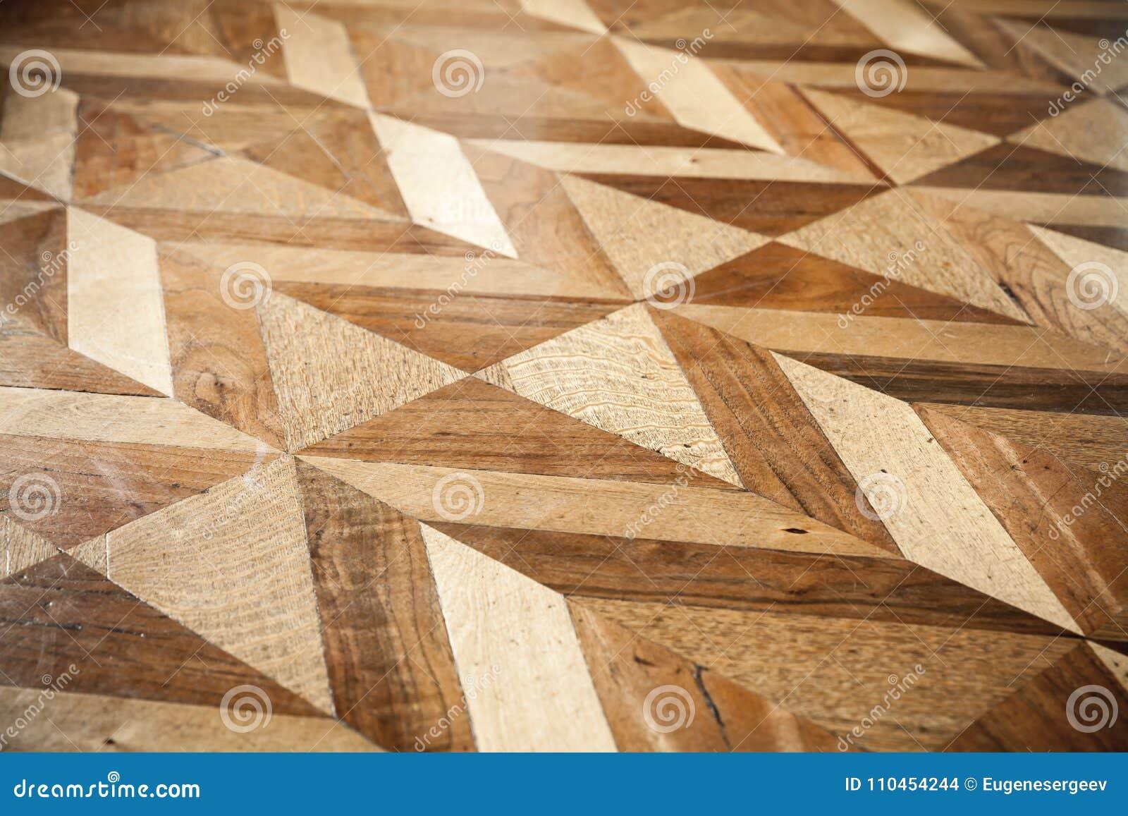 Klassisk träparkettdesign