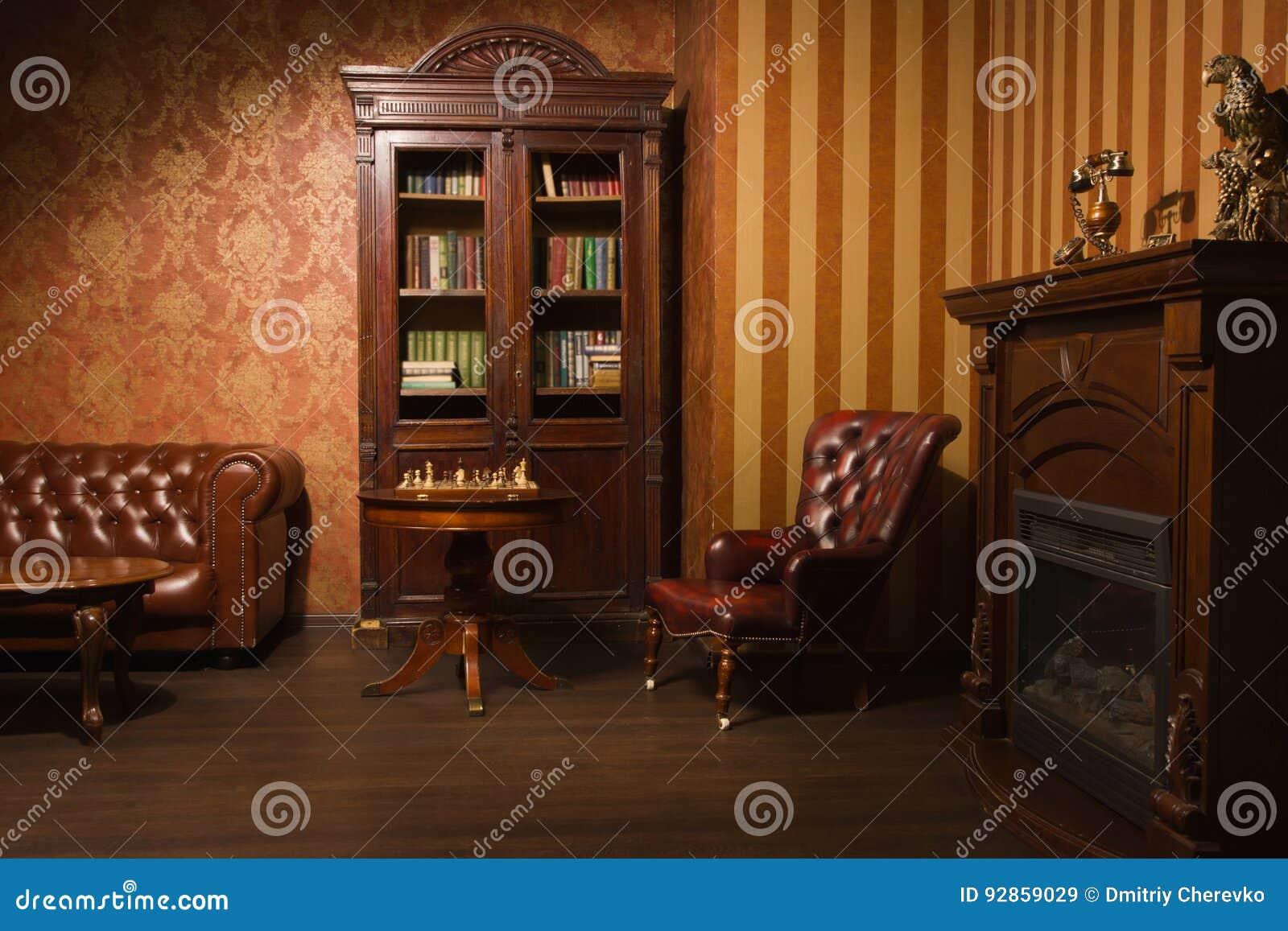 Klassiskt arkivrum