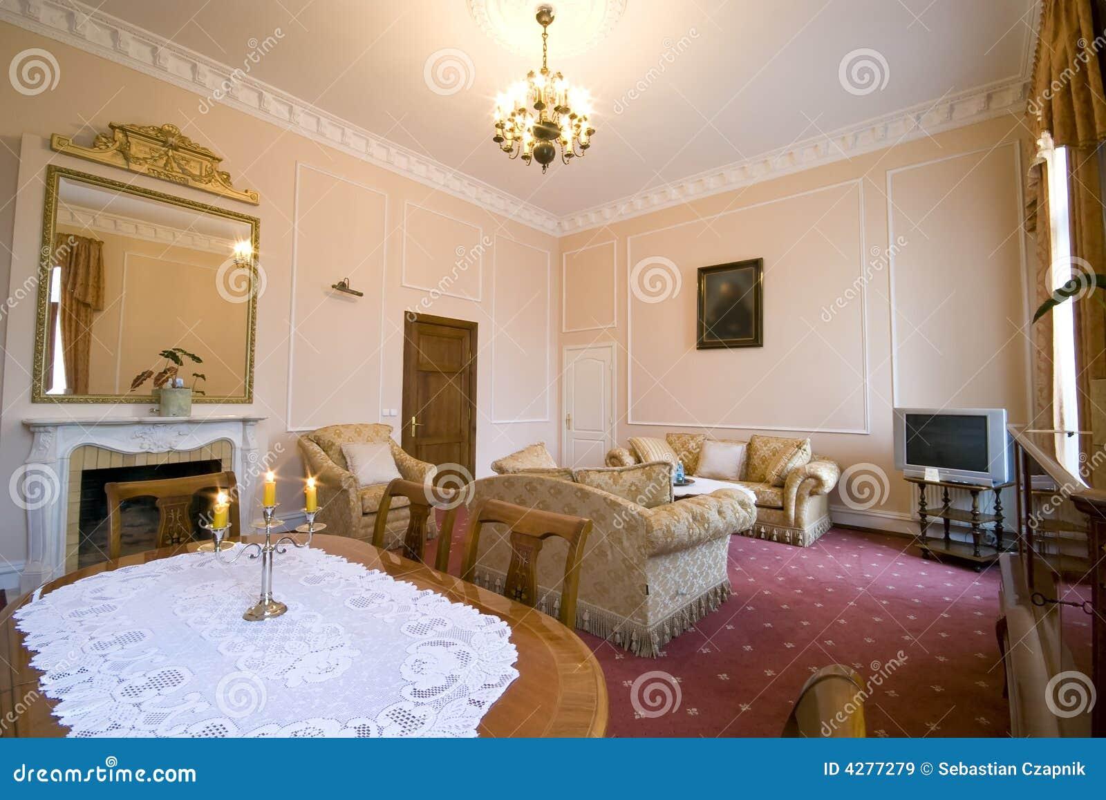 Klassiskt hotellrum