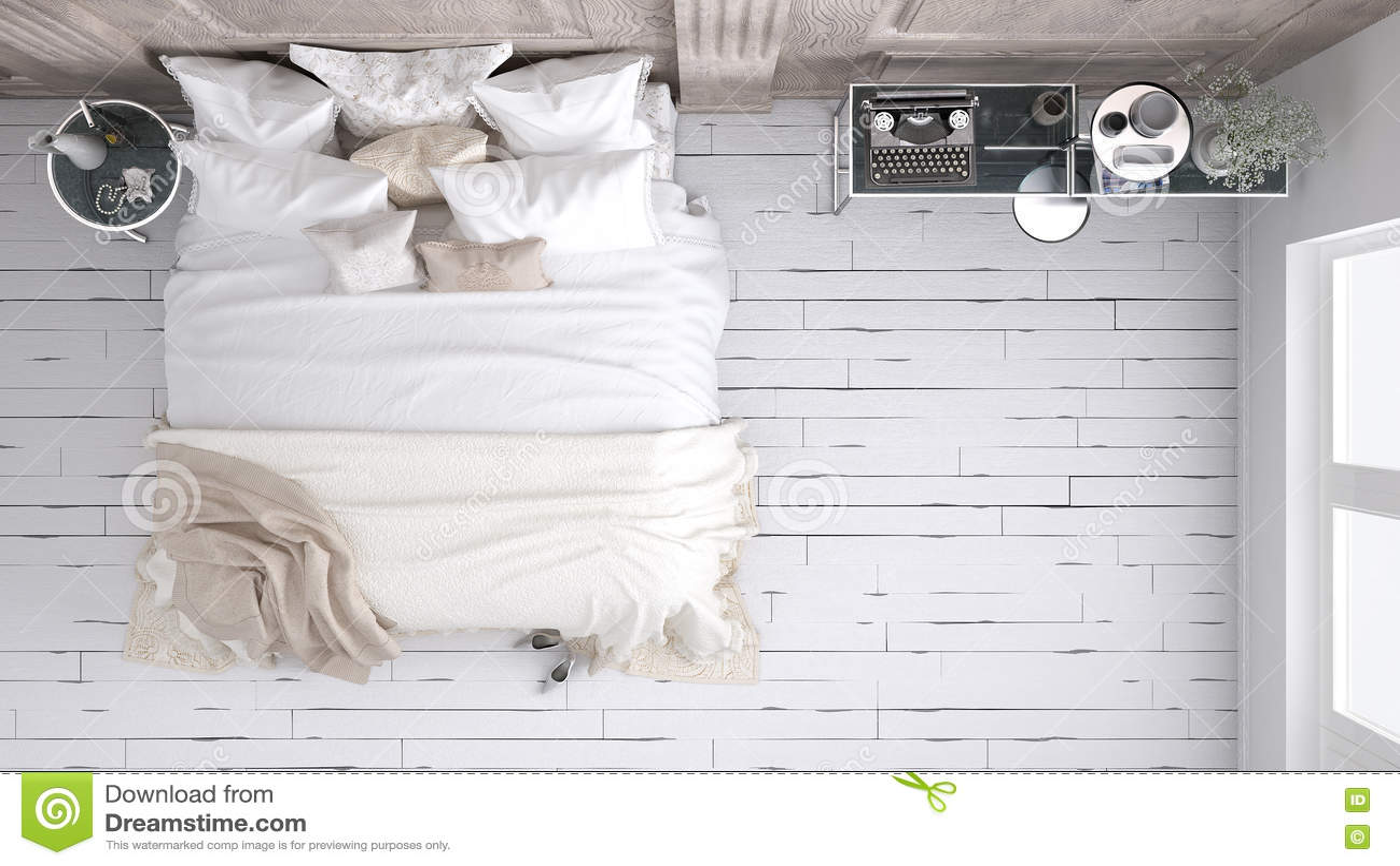 Klassiskt sovrum, bästa sikt