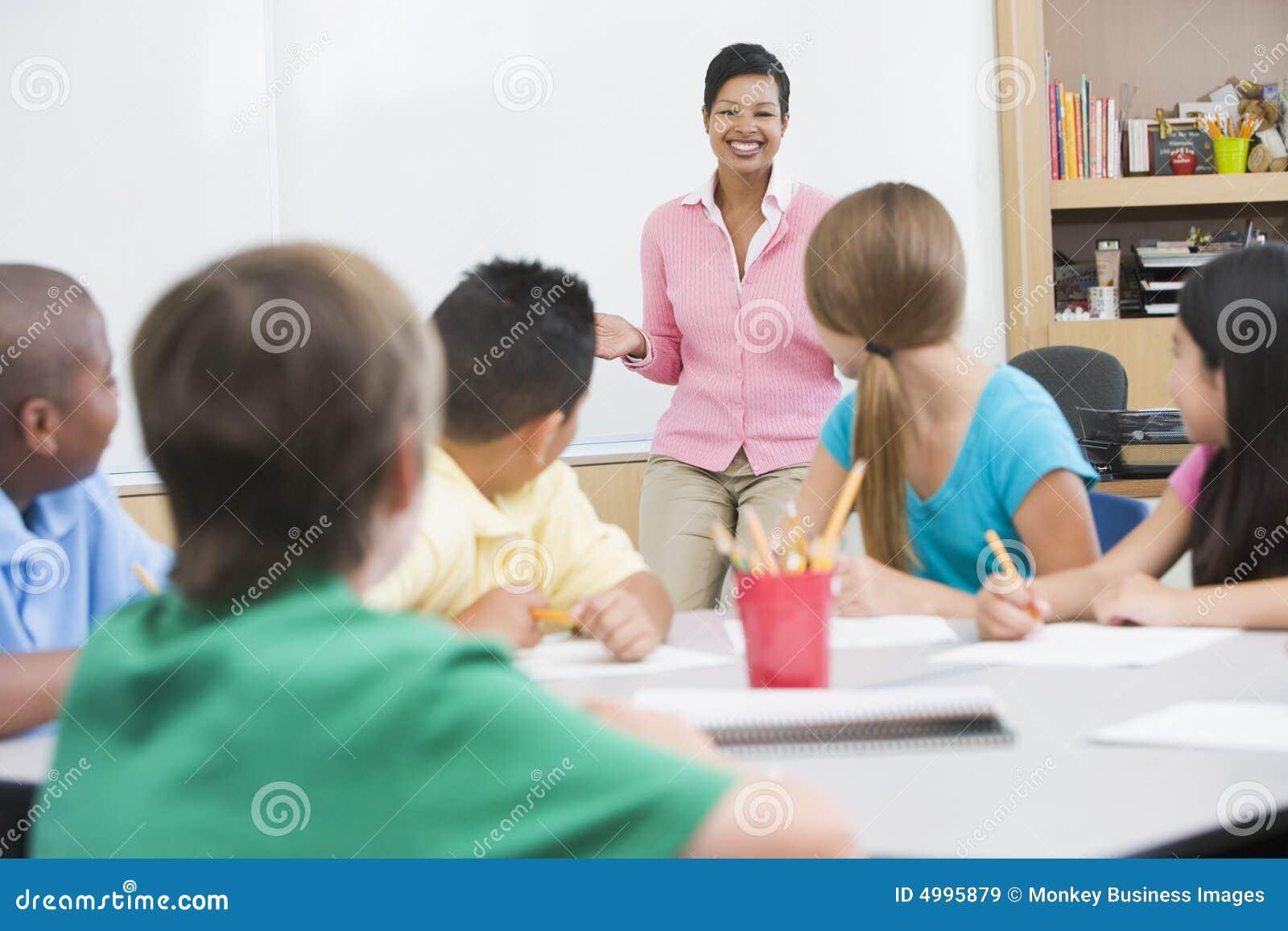 Klassrumgrundskolalärare