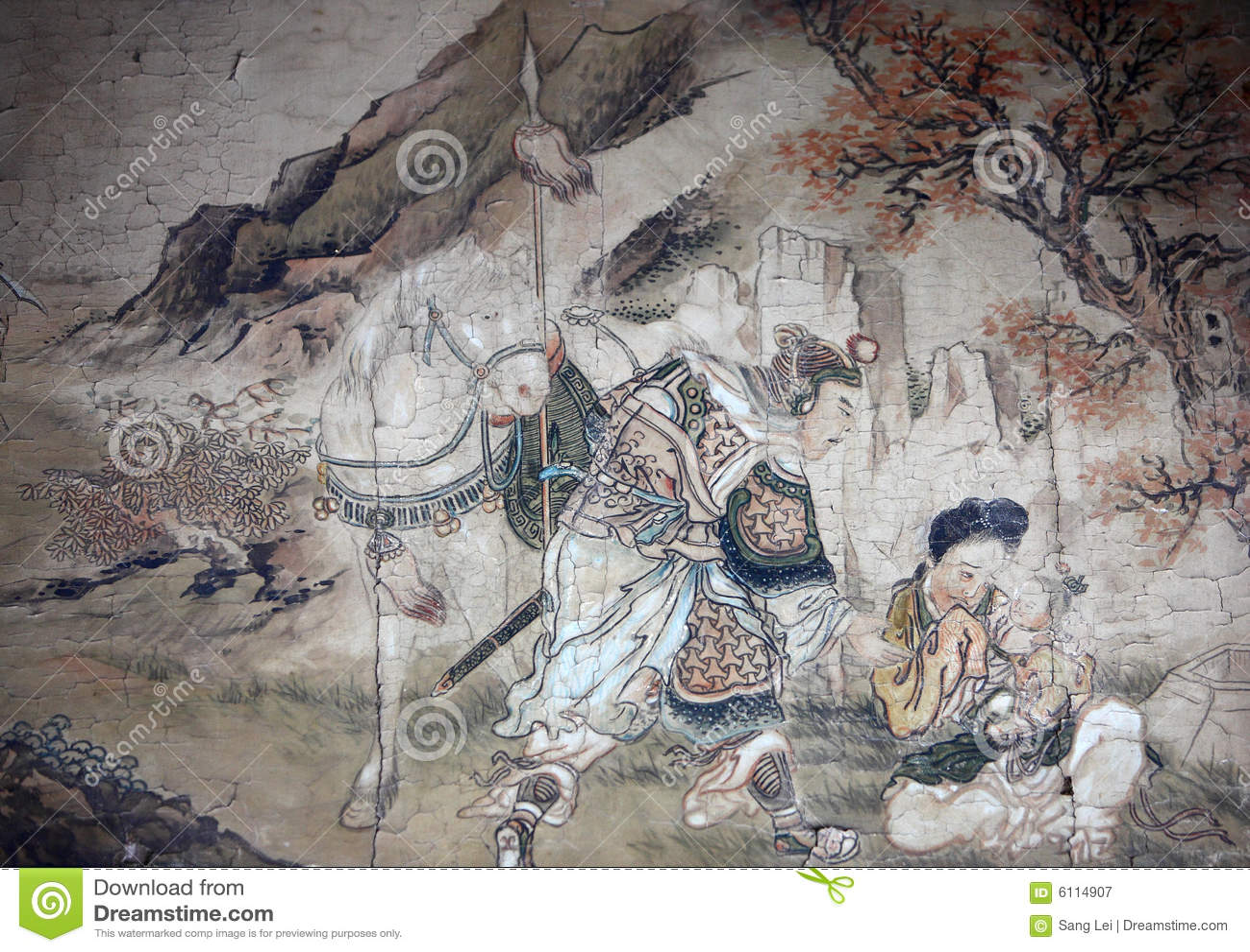 Klasyczna chiński obraz