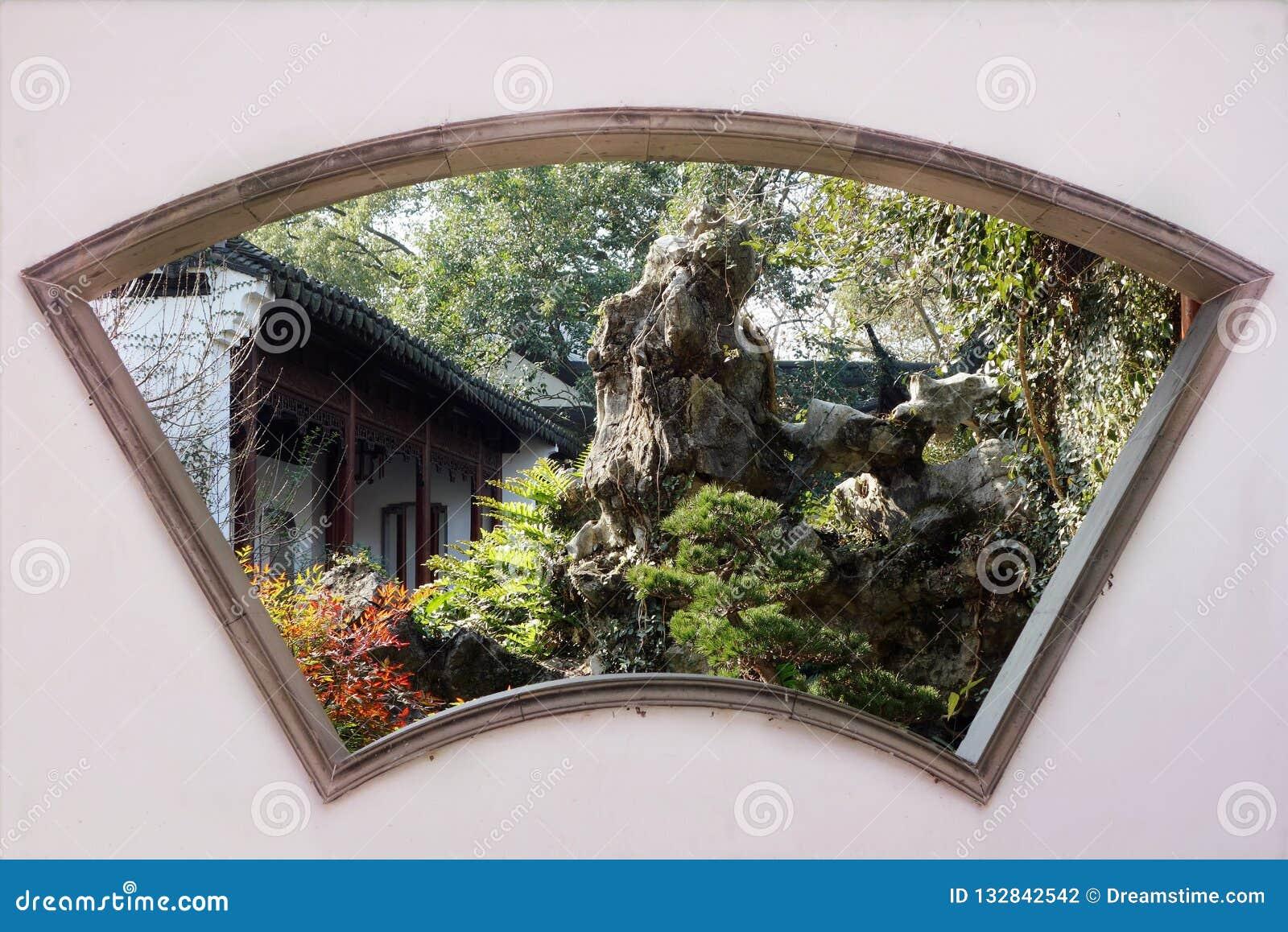 Klasyczna chiński ogrodu
