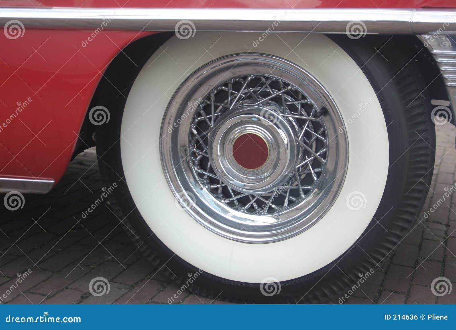 Klasyczna samochód koło