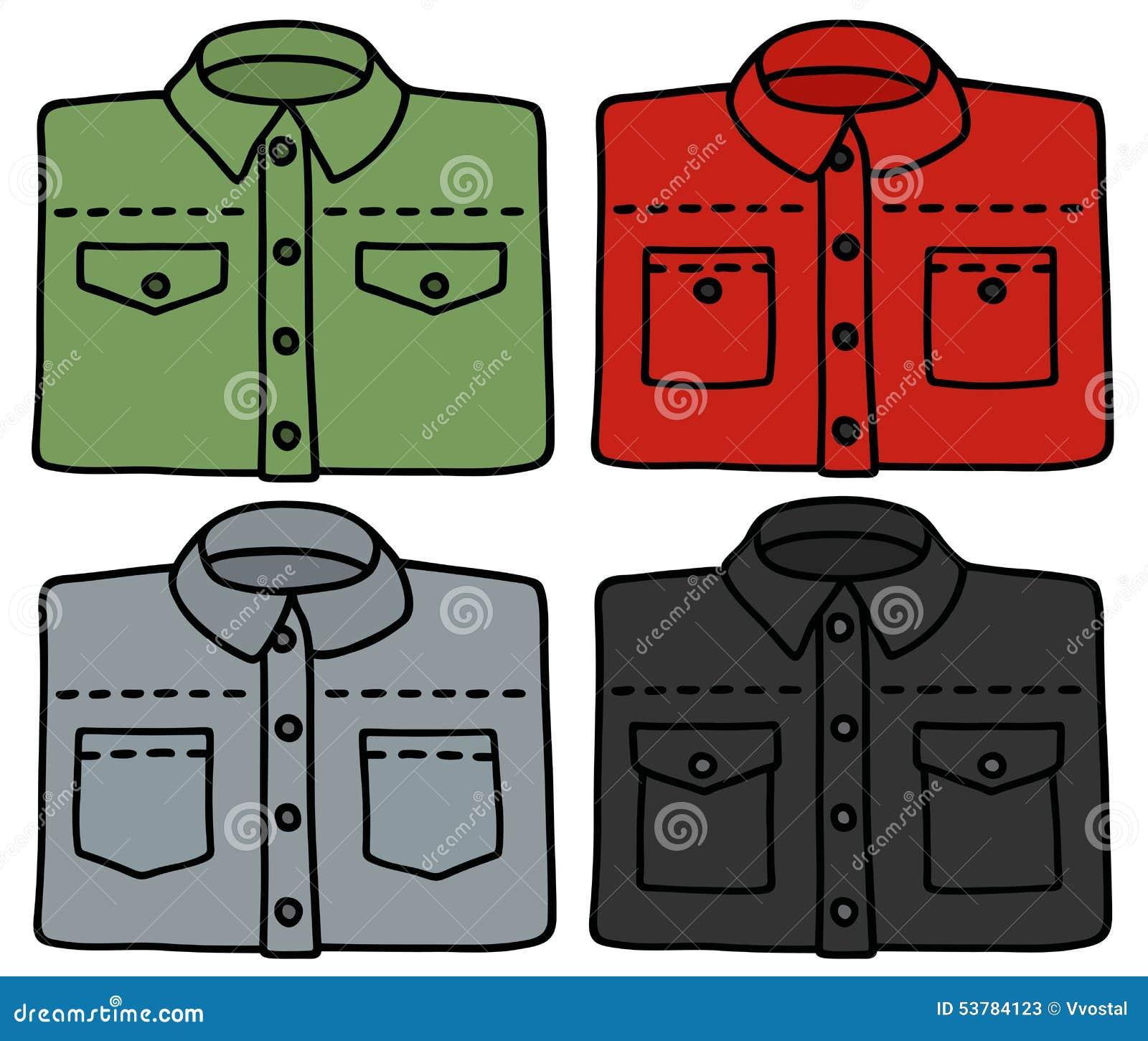Klasyczne kolor koszula