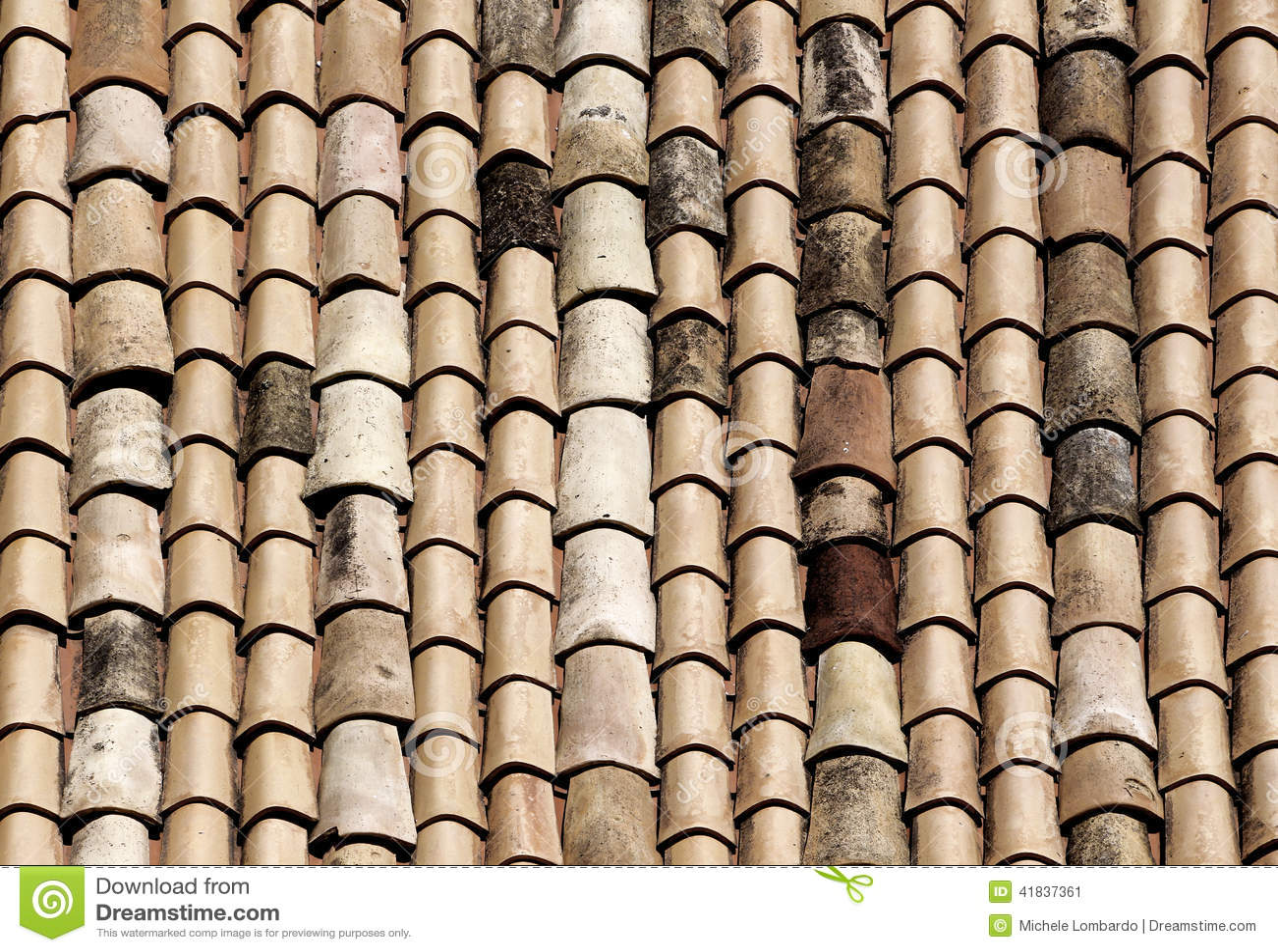 Klasyczne płytki dachy noto, Sicily