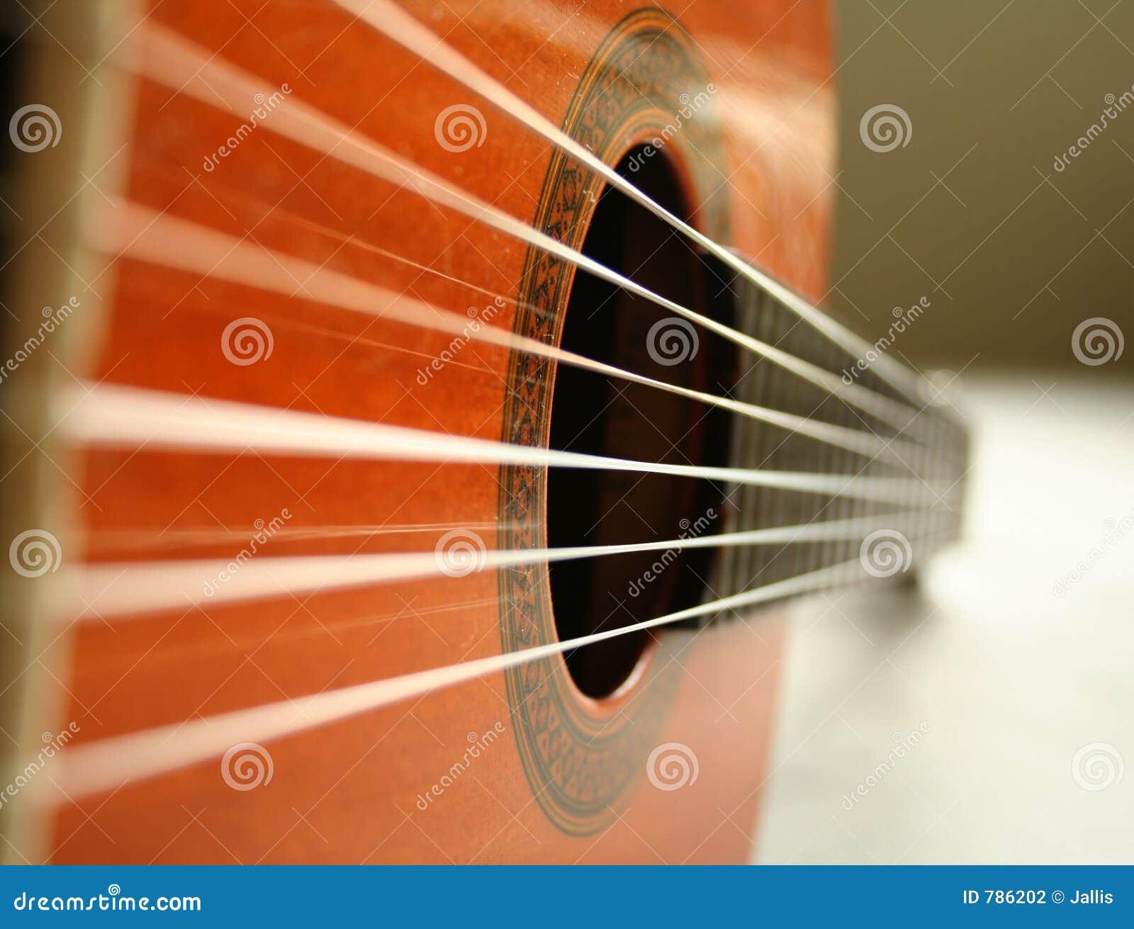 Klasyczne struny gitary