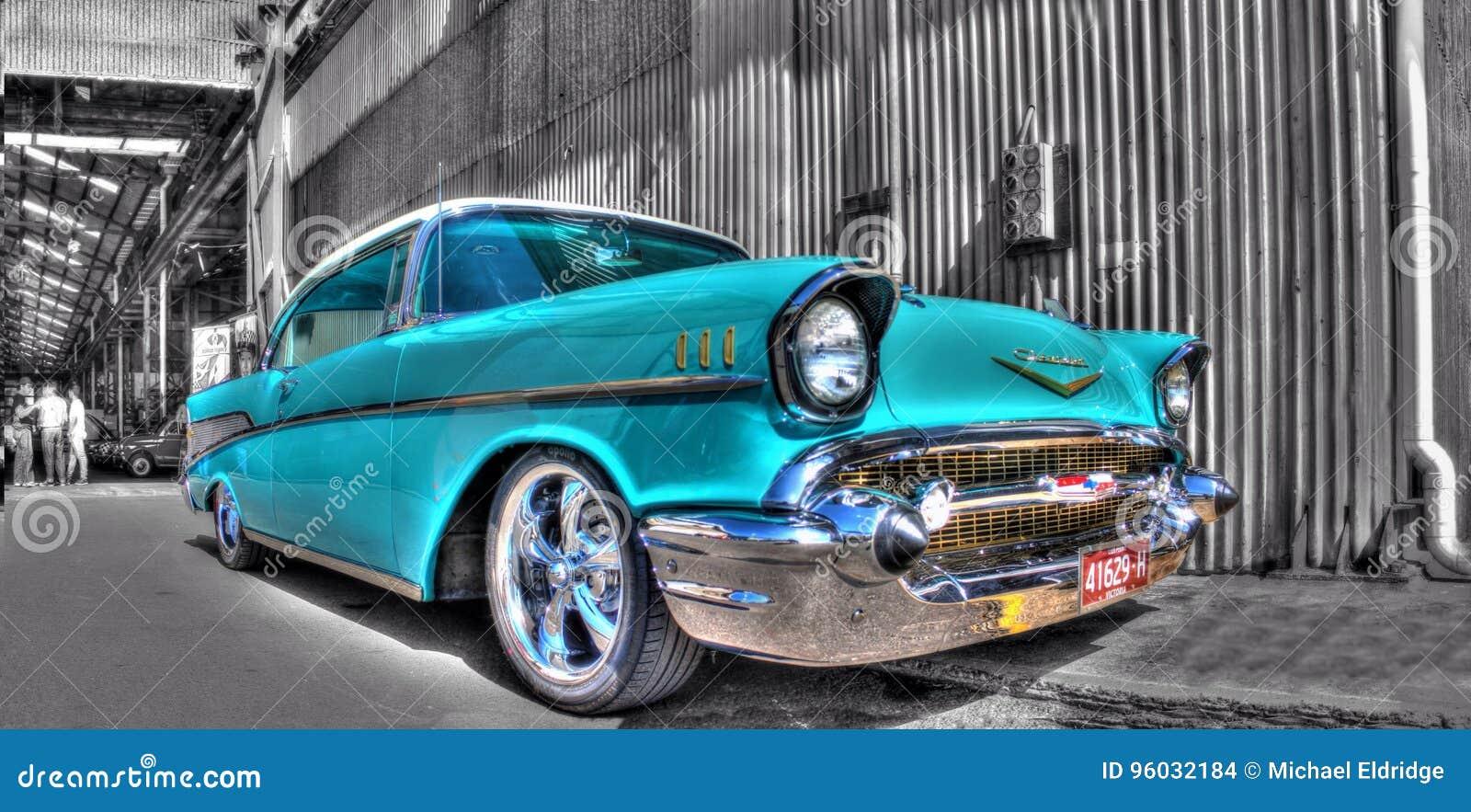Klasyczni Amerykańscy 1950s Chevy