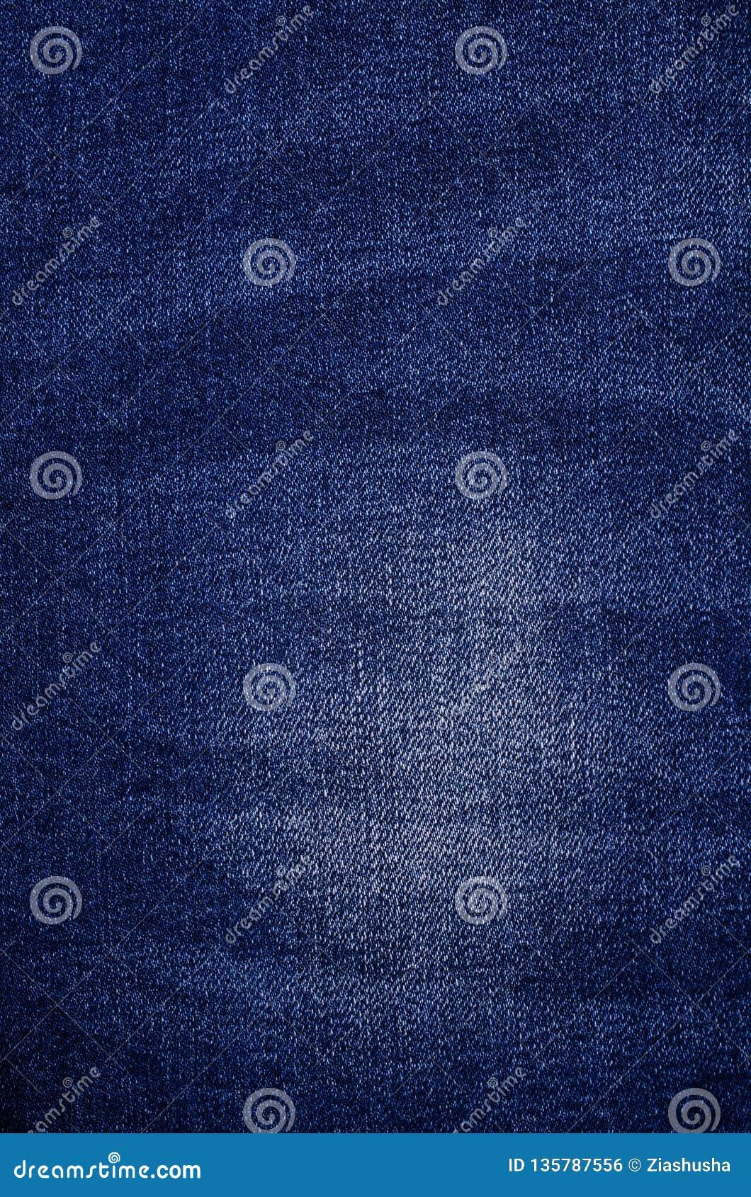 Klasyczny błękitny drelichowy tło