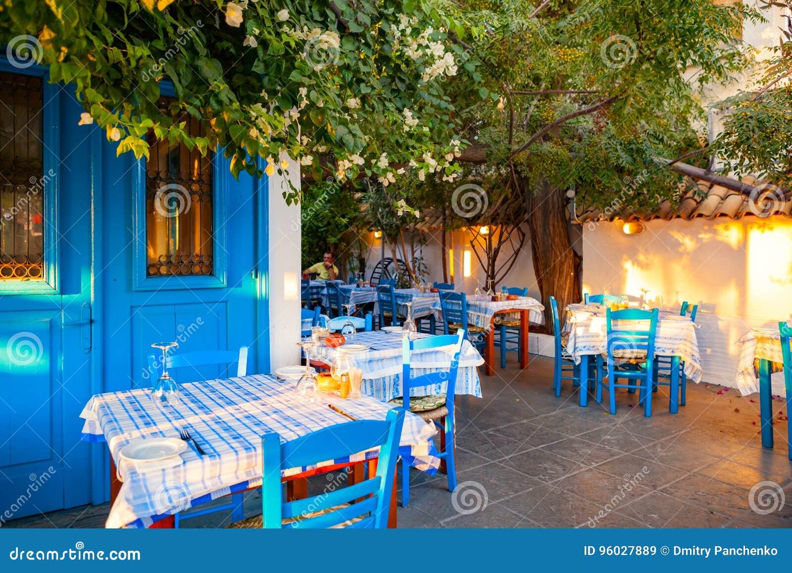 Klasyczny Cypryjski taverna