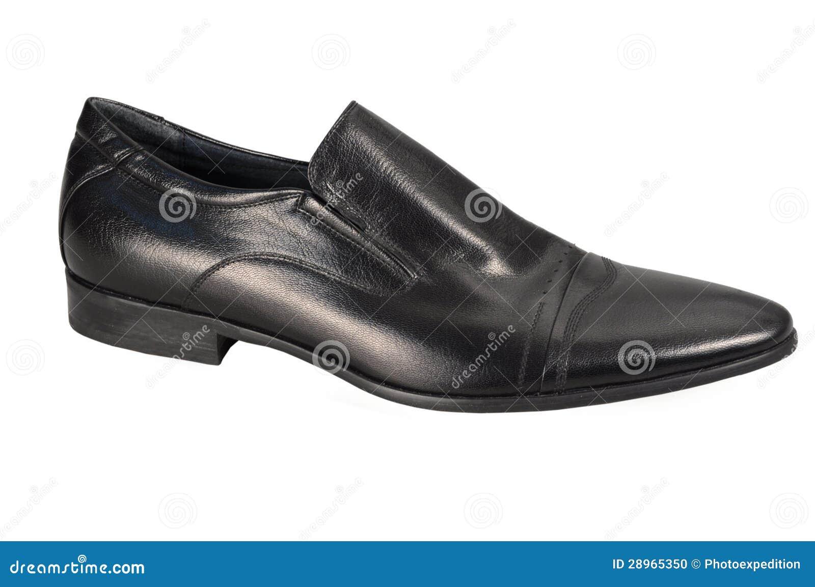 Klasyczny mężczyzna but odizolowywający