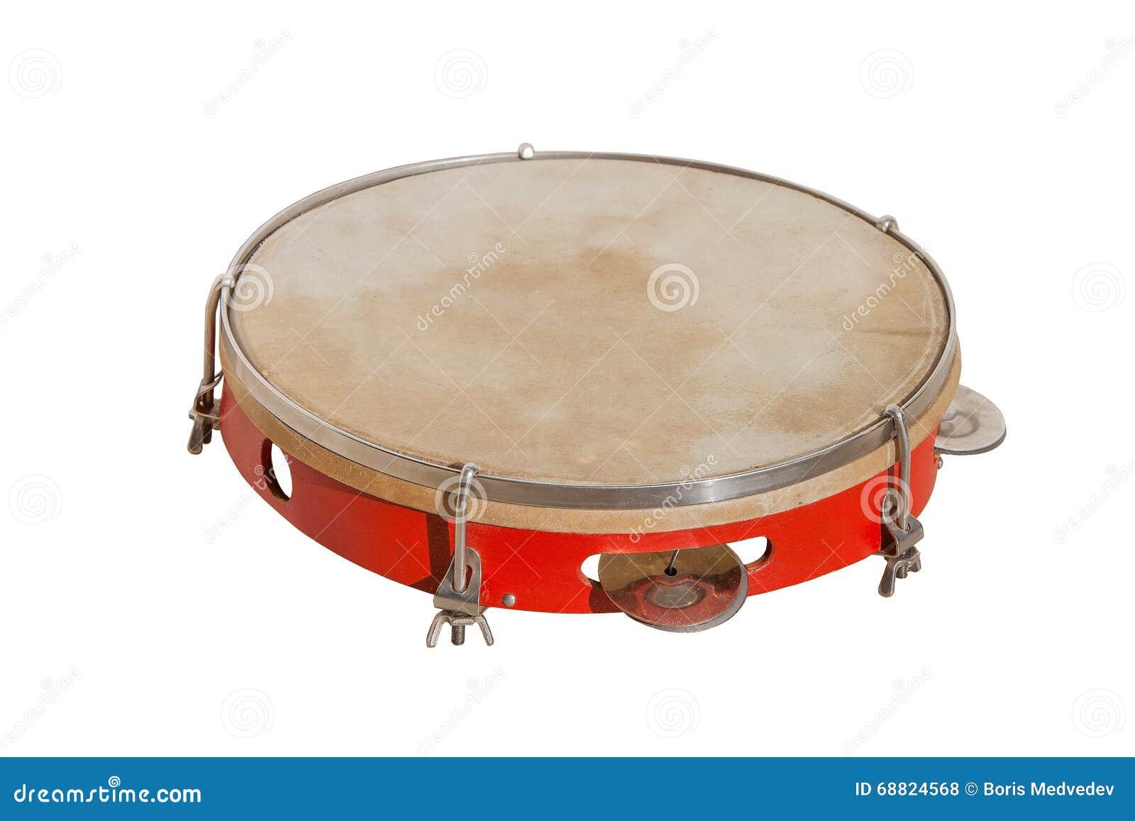Klasyczny muzyczny instrument tambourine