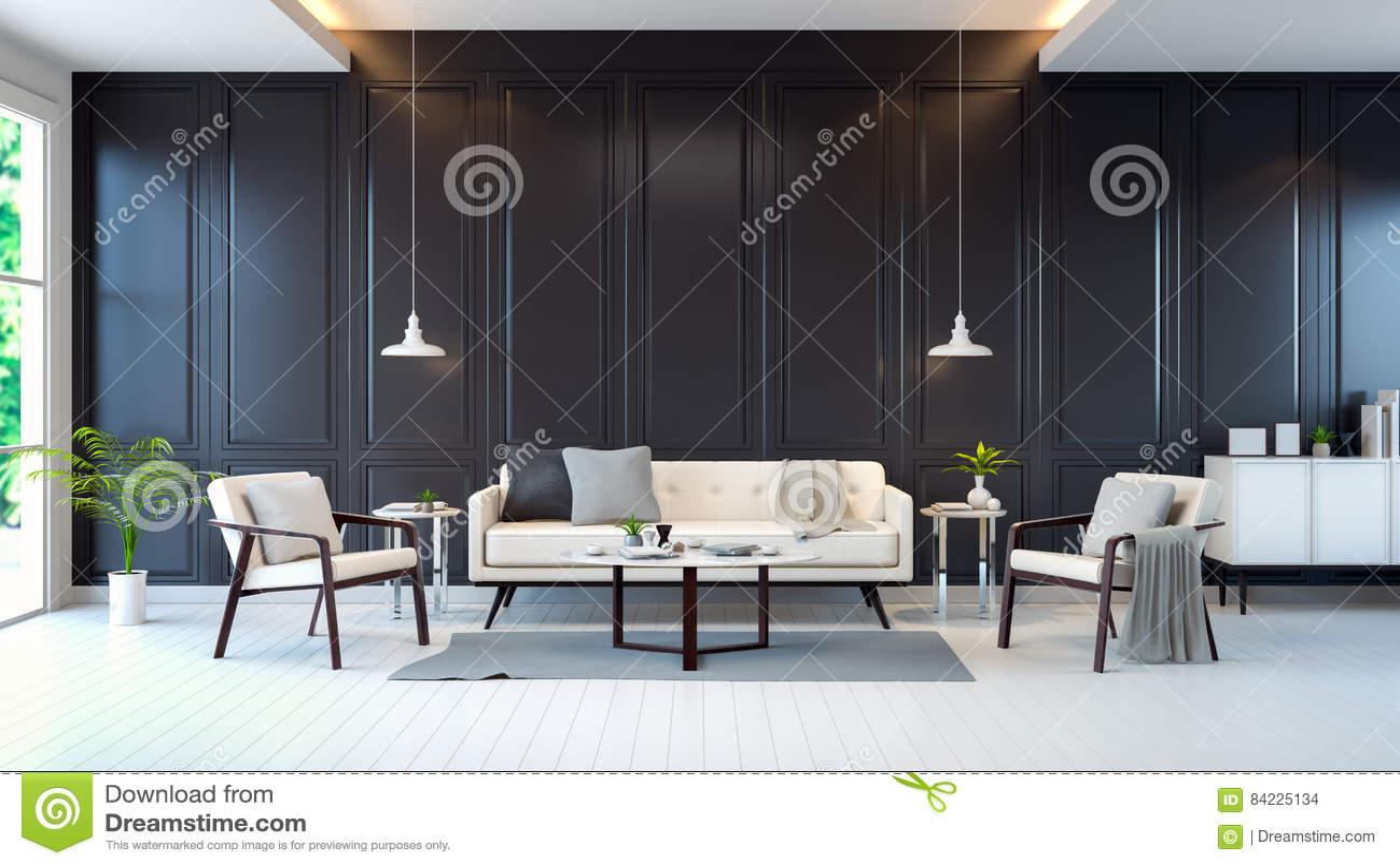 Klasyczny pokój