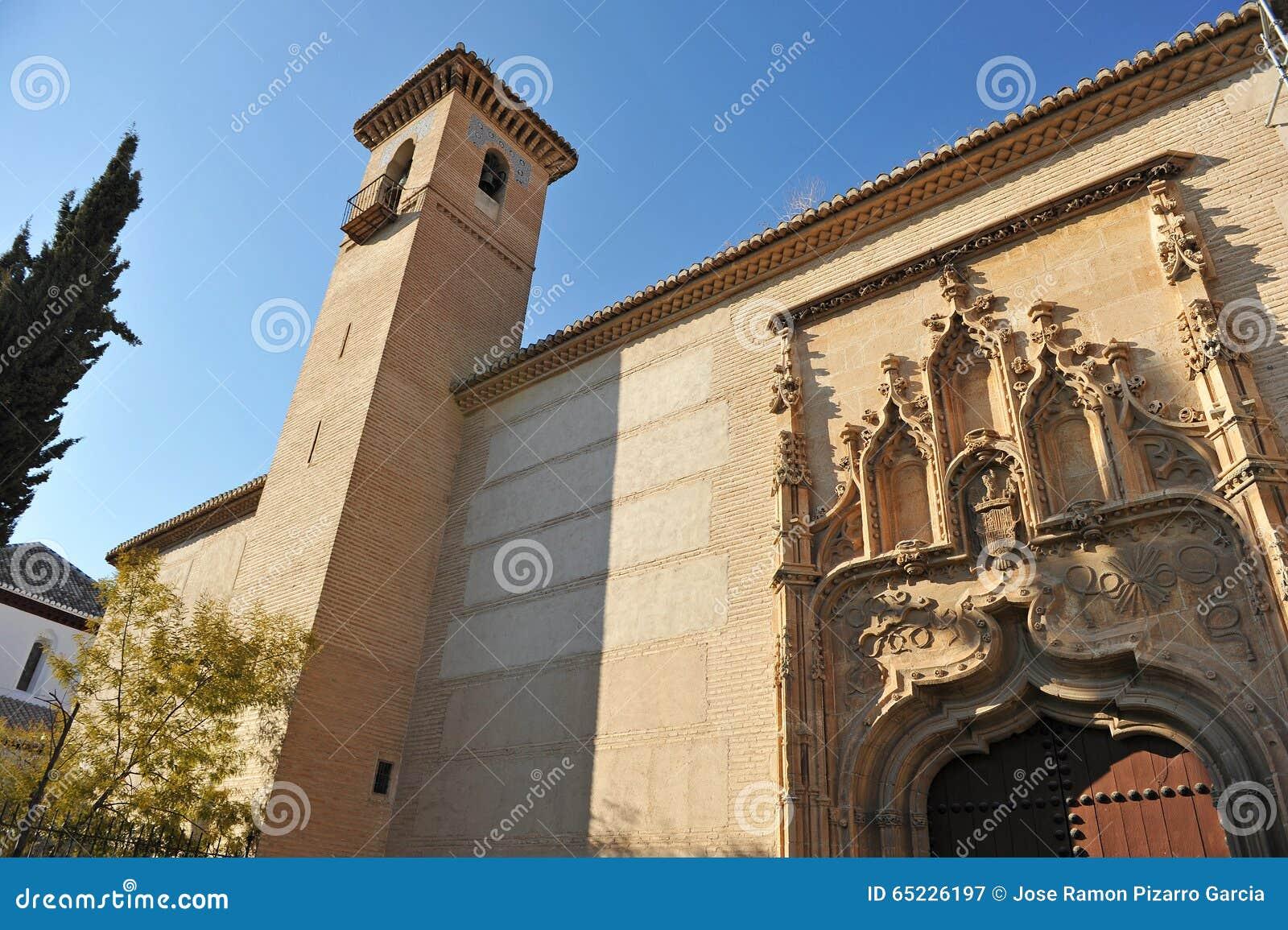 Klasztor święty Isabella Królewski, Granada, Hiszpania