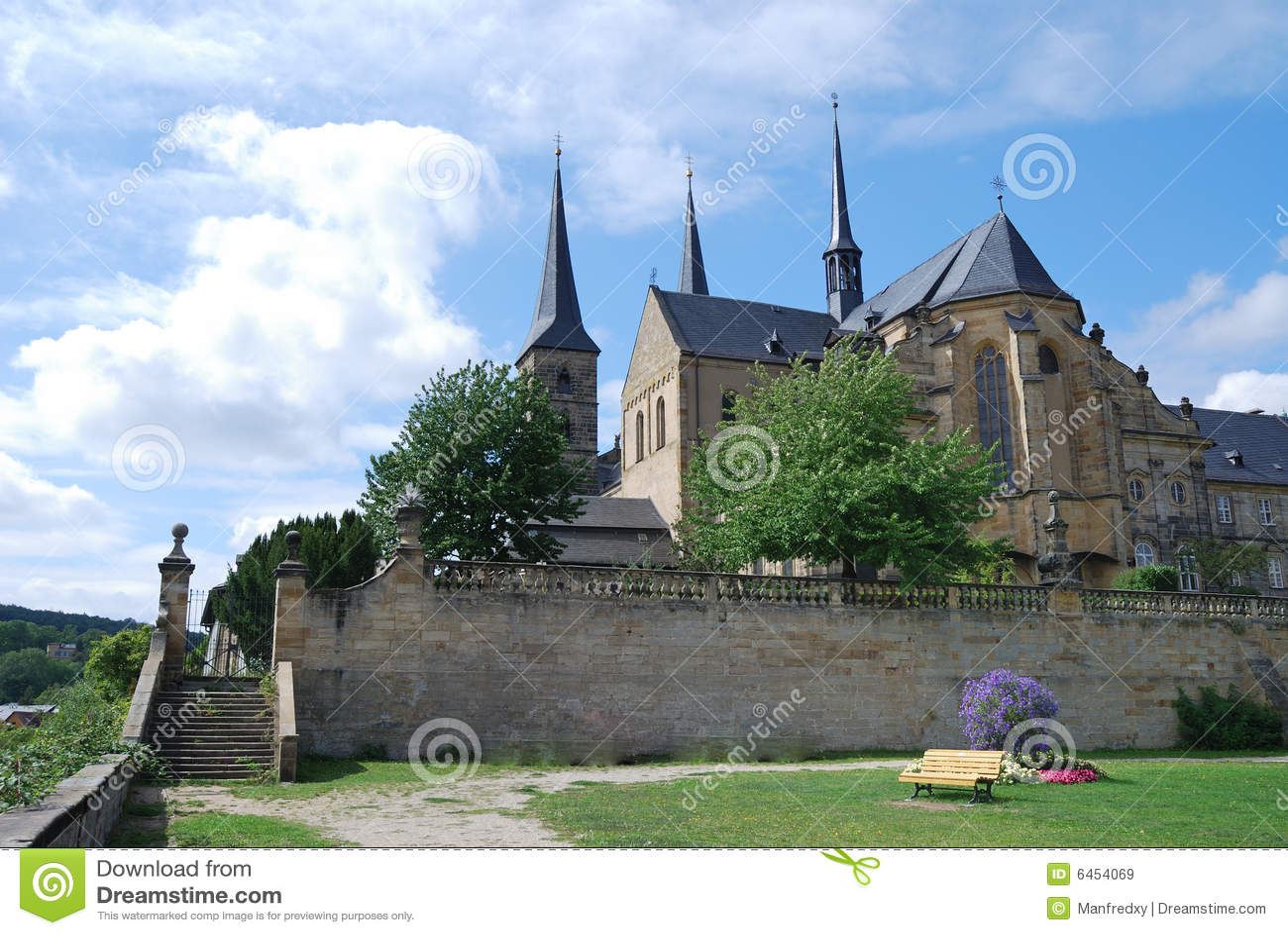 Klasztor michaelsberg bamberg