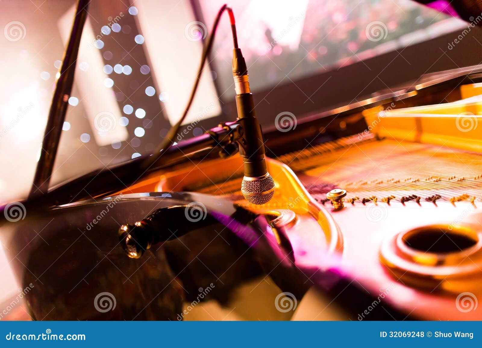 Klaviermikrofon