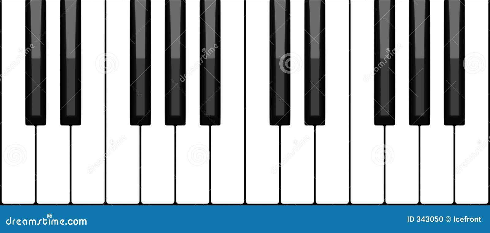Virtuelle Klaviertastatur