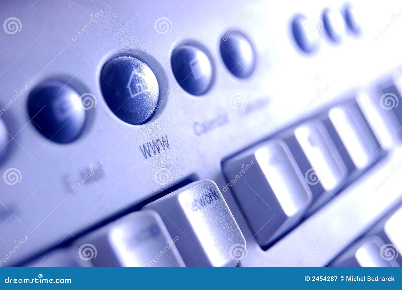 Klawiatura Www przycisk