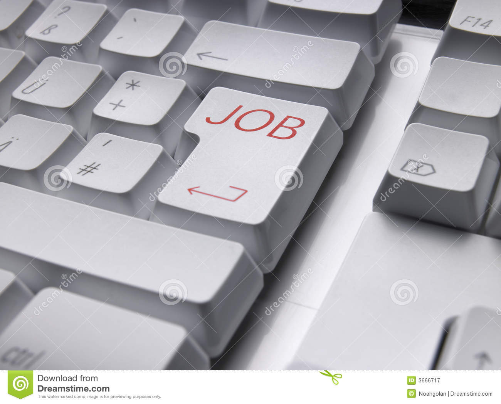 Klawiatura zatrudnienia