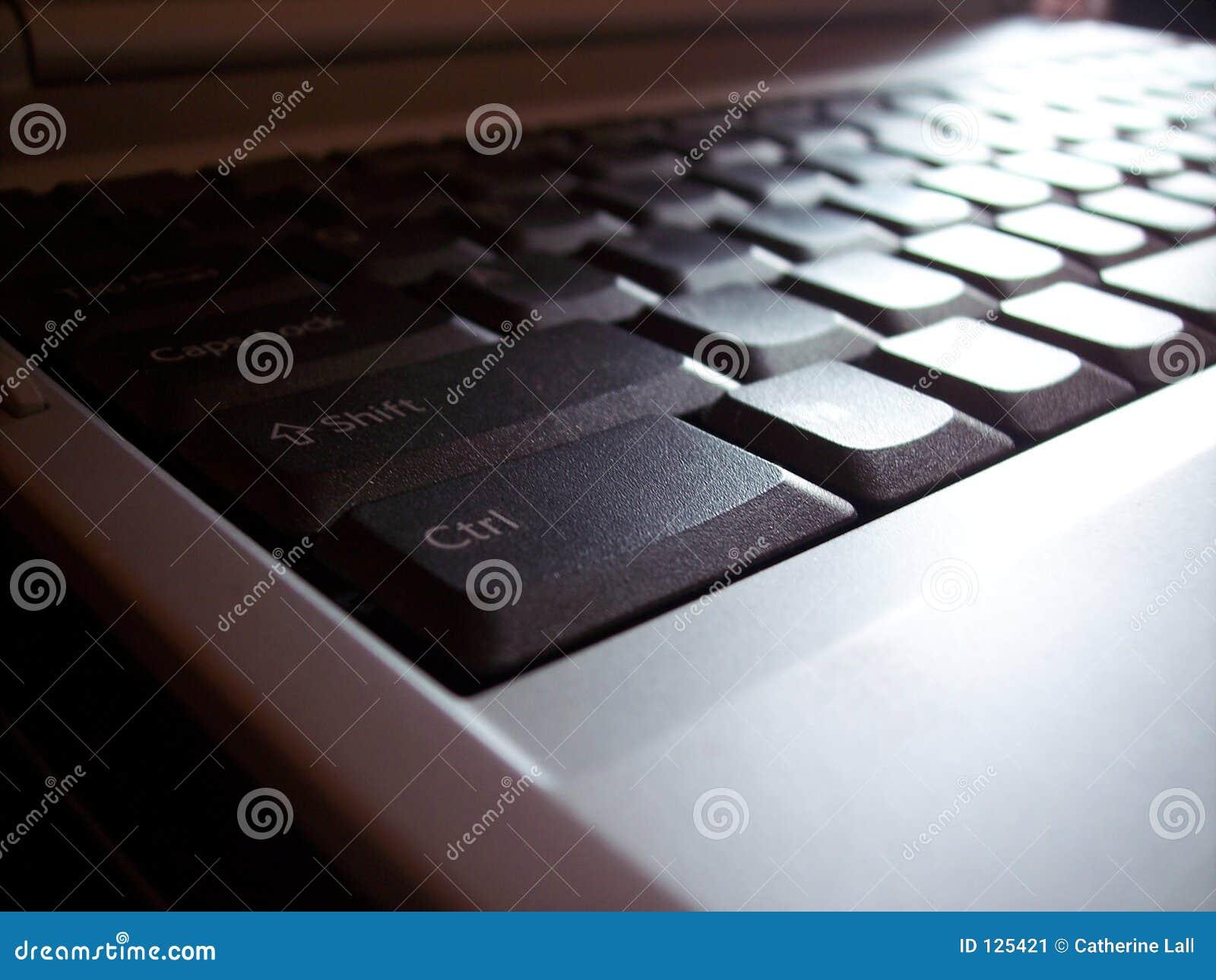 Klawiaturowy laptop