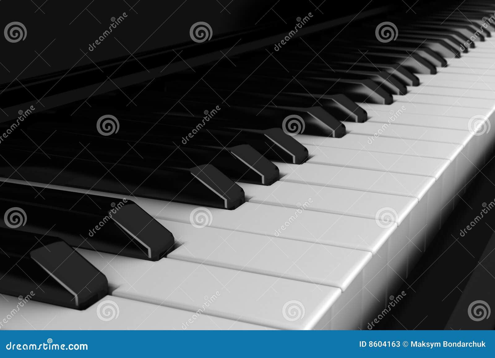 Klawiaturowy zamknięty klawiaturowy pianino
