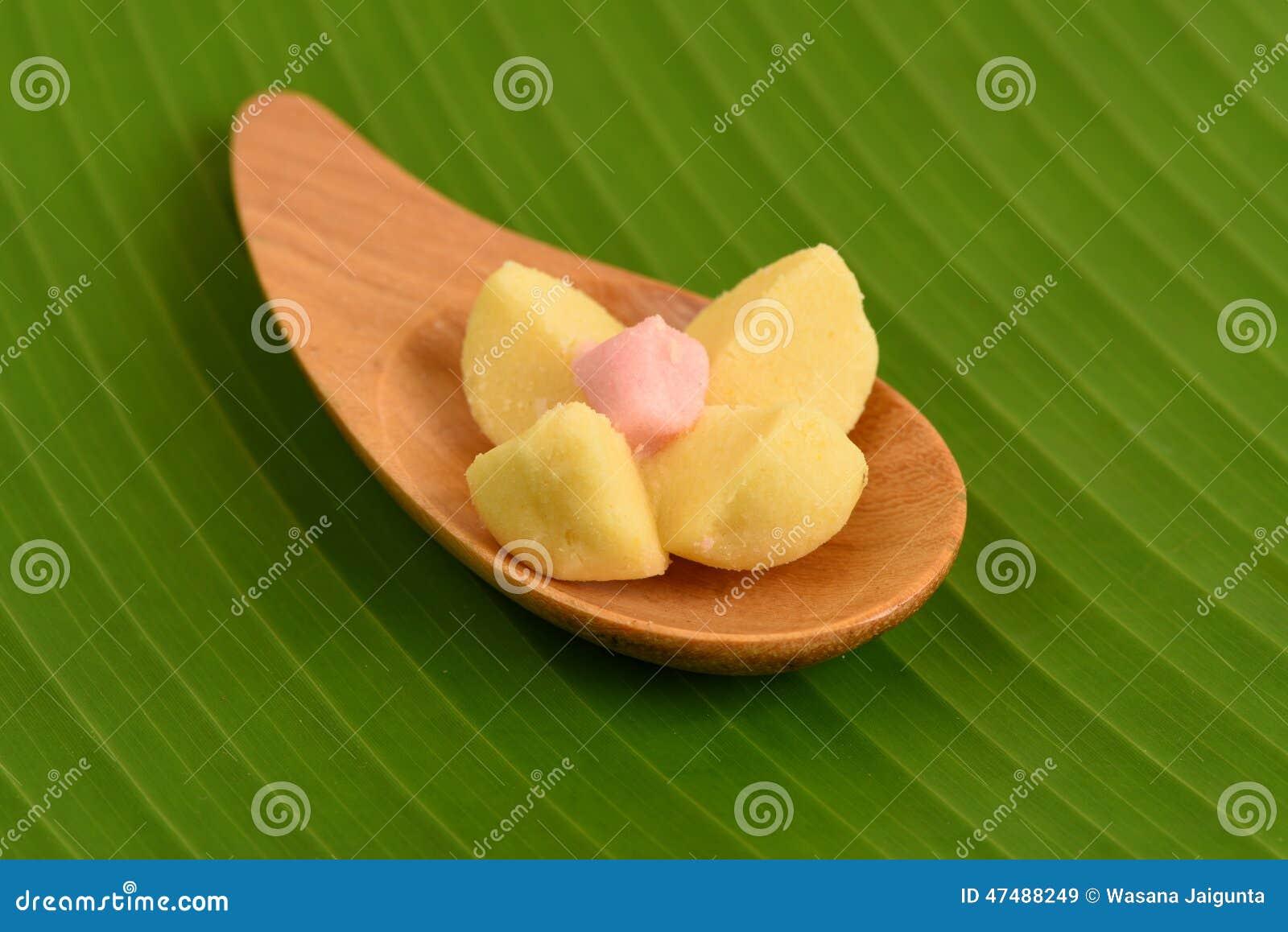 Kleeb Lamduan (thai Name) Thai Shortbread Cookies, On A ...