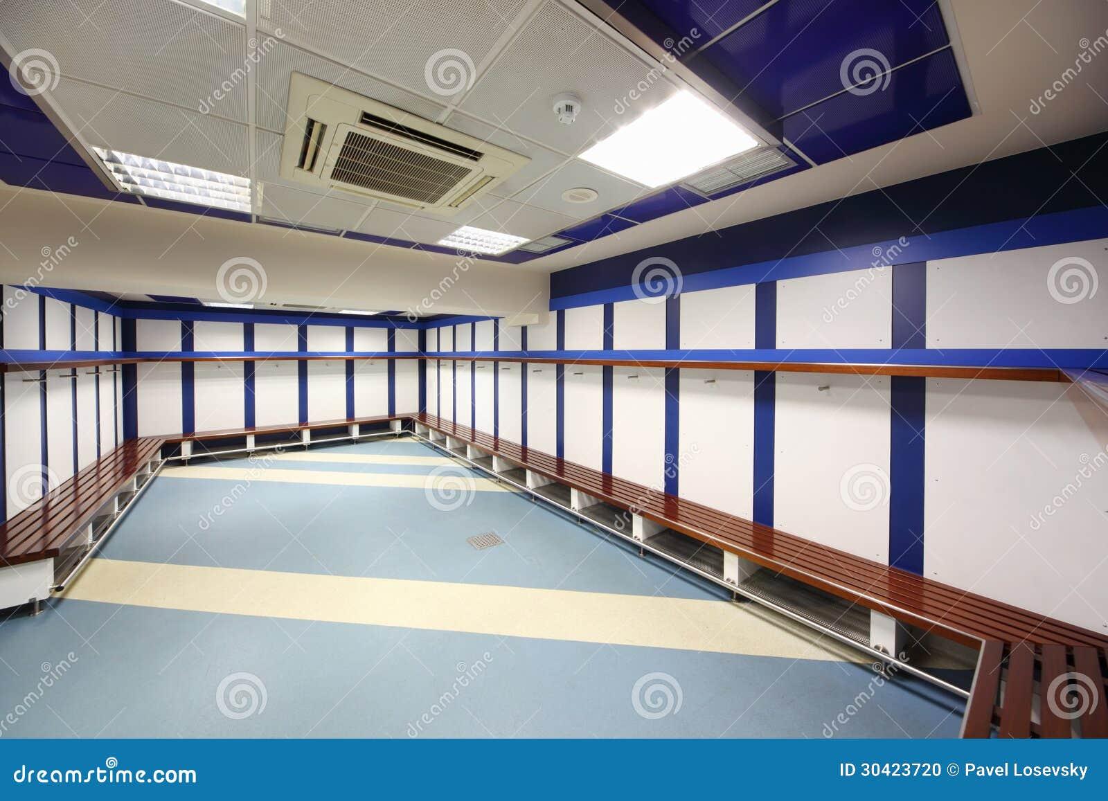 Kleedkamer in santiago bernabeu stadium redactionele afbeelding afbeelding 30423720 - Plan slaapkamer kleedkamer ...
